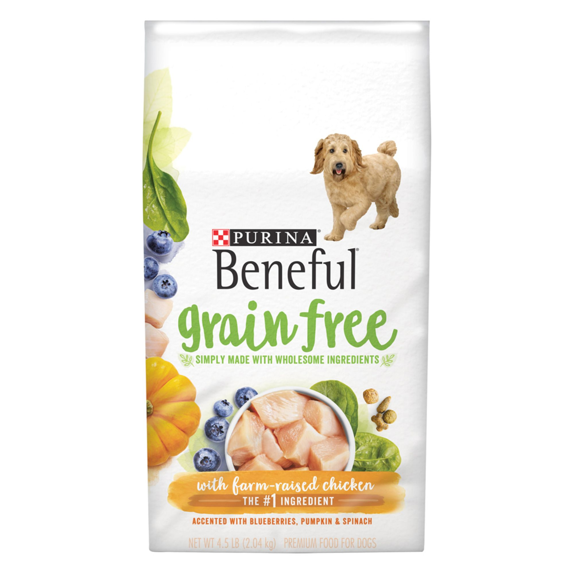 Purina® Beneful® Adult Dog Food - Grain Free, Gluten Free, Chicken size: 4.5 Lb 5264086