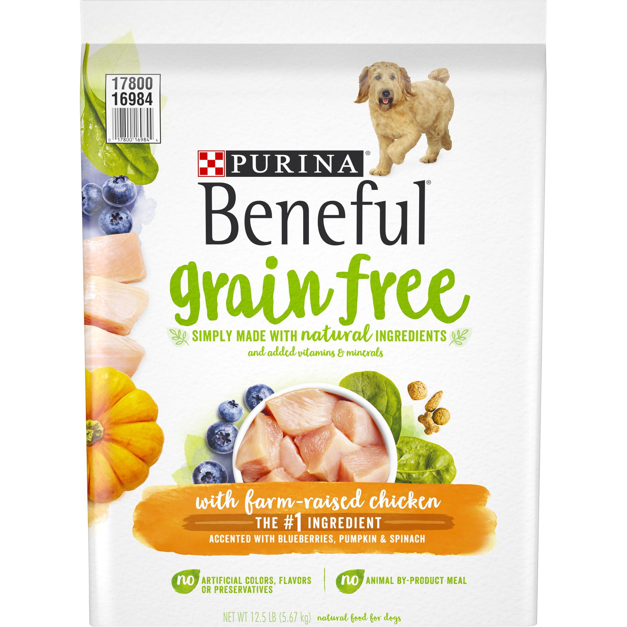 Purina® Beneful® Adult Dog Food - Grain Free, Gluten Free, Chicken size: 12.5 Lb 5264087