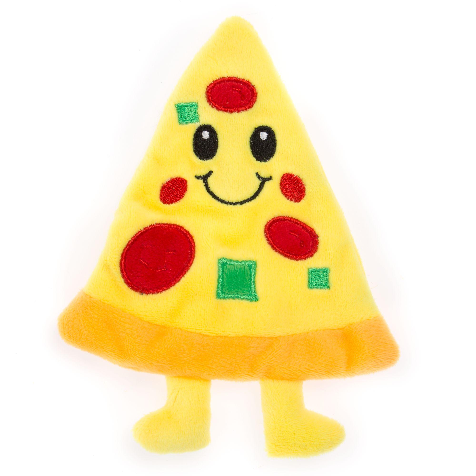 Top Paw Flattie Pizza Dog Toy 5264132