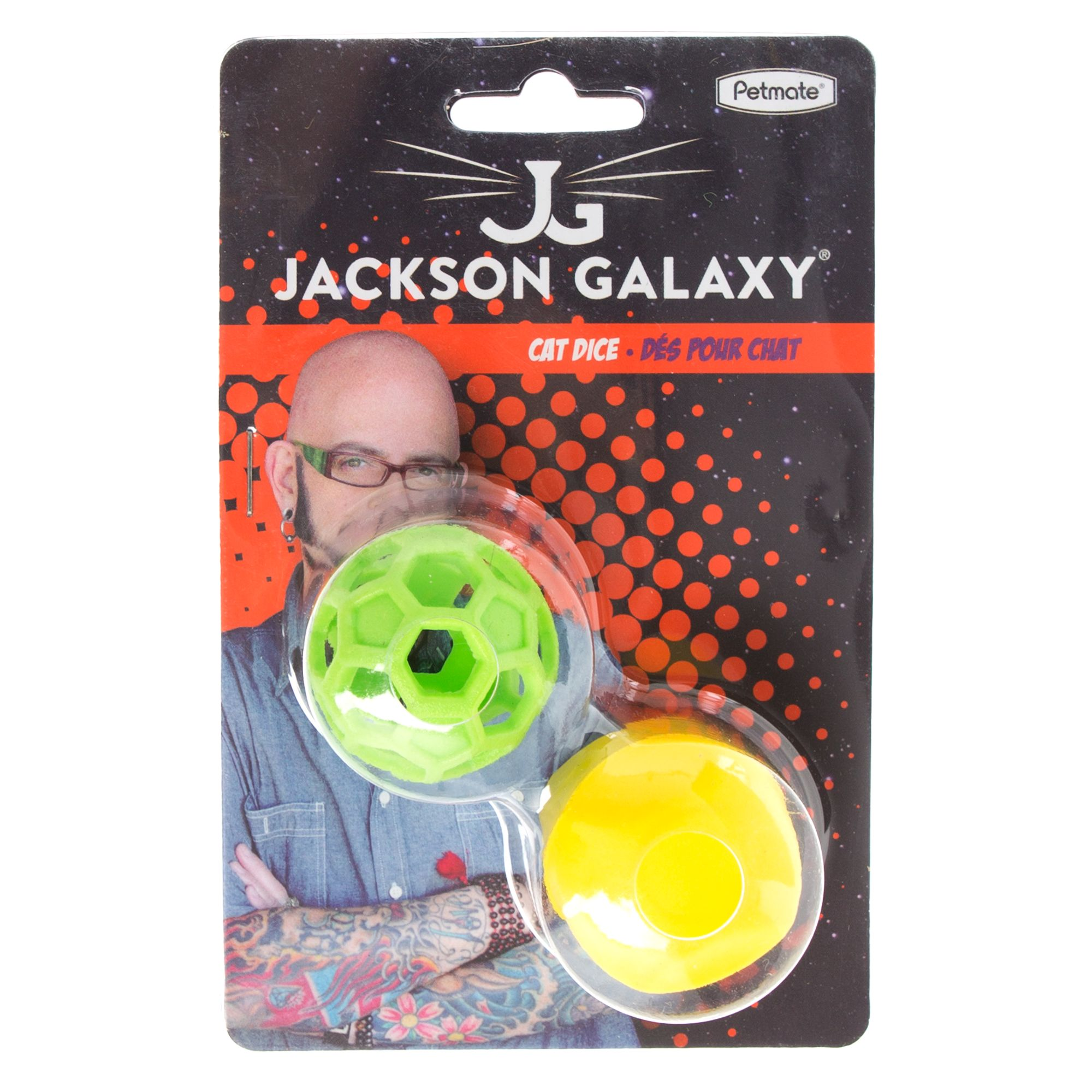 Jackson Galaxy Dice and Ball Cat Toy 5264469