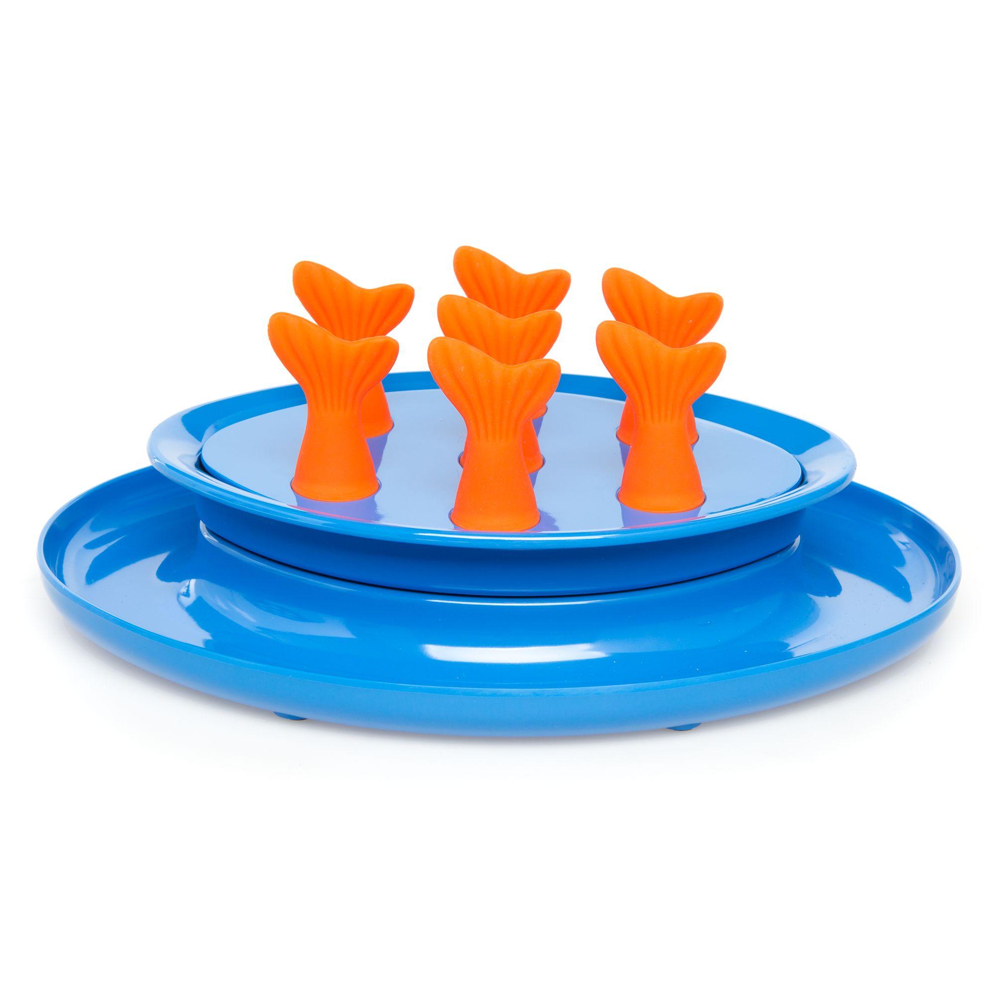 Jackson Galaxy Go Fish Puzzle Bowl Cat Toy 5264480