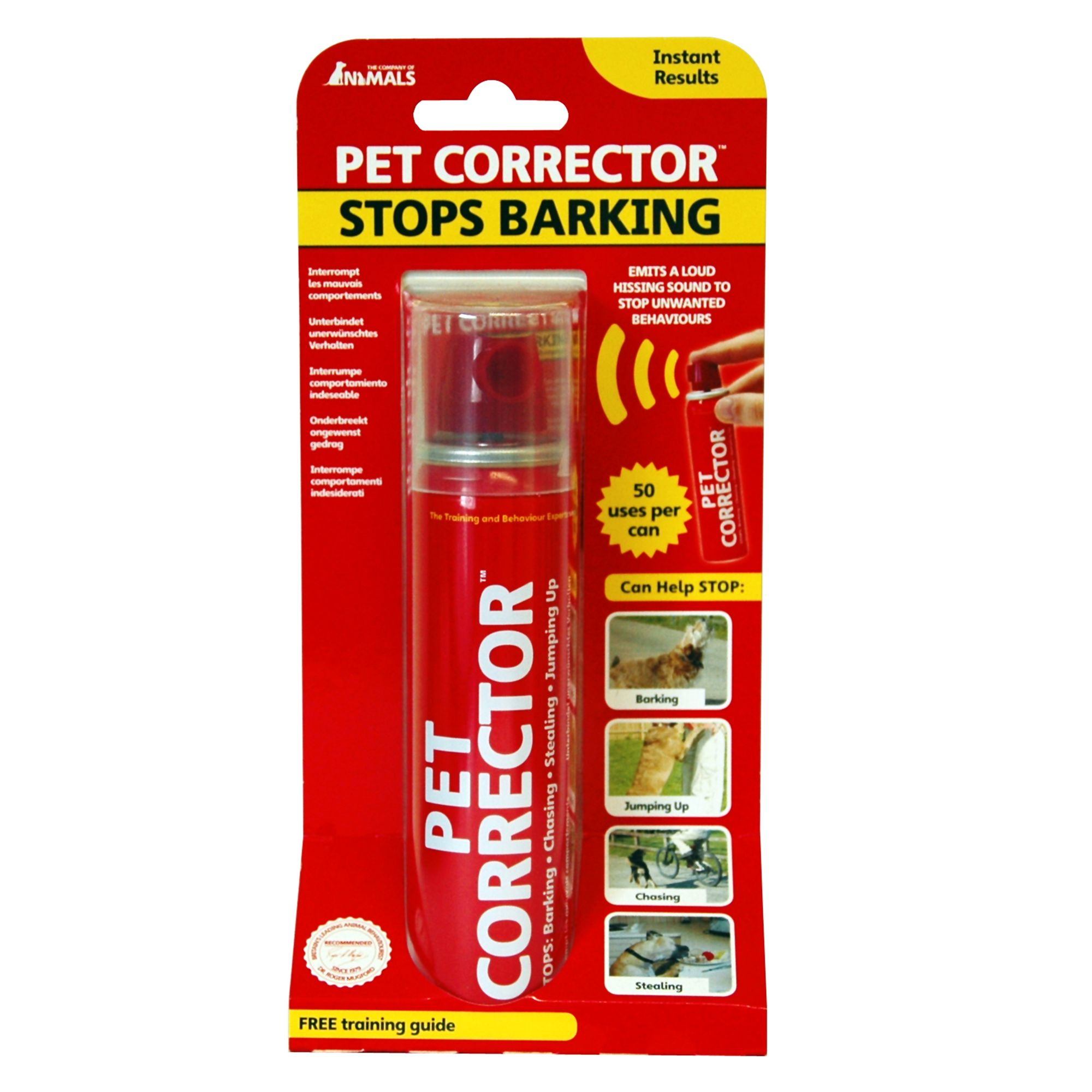 Pet Corrector Stop Barking Behavior Dog Corrector