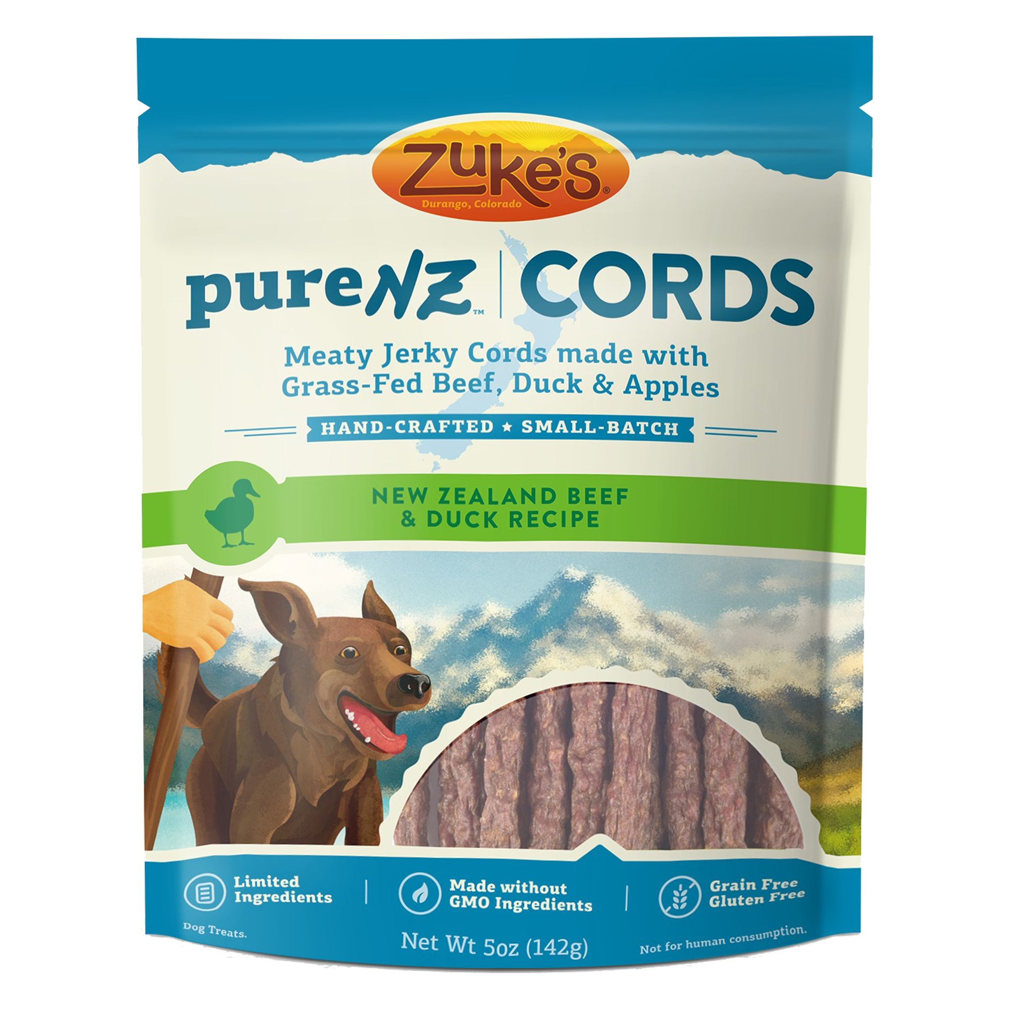 Zuke's® Pure NZ Cords Dog Treat - Grain Free, Limited In