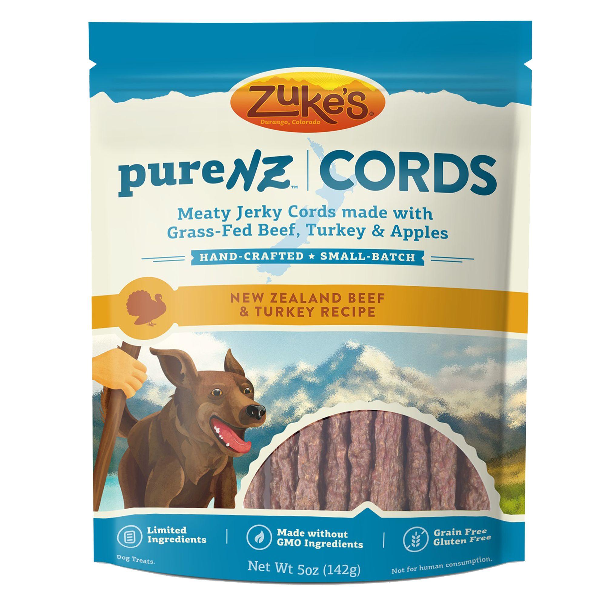 Zuke's® Pure NZ Cords Dog Treat - Grain Free, Limited In