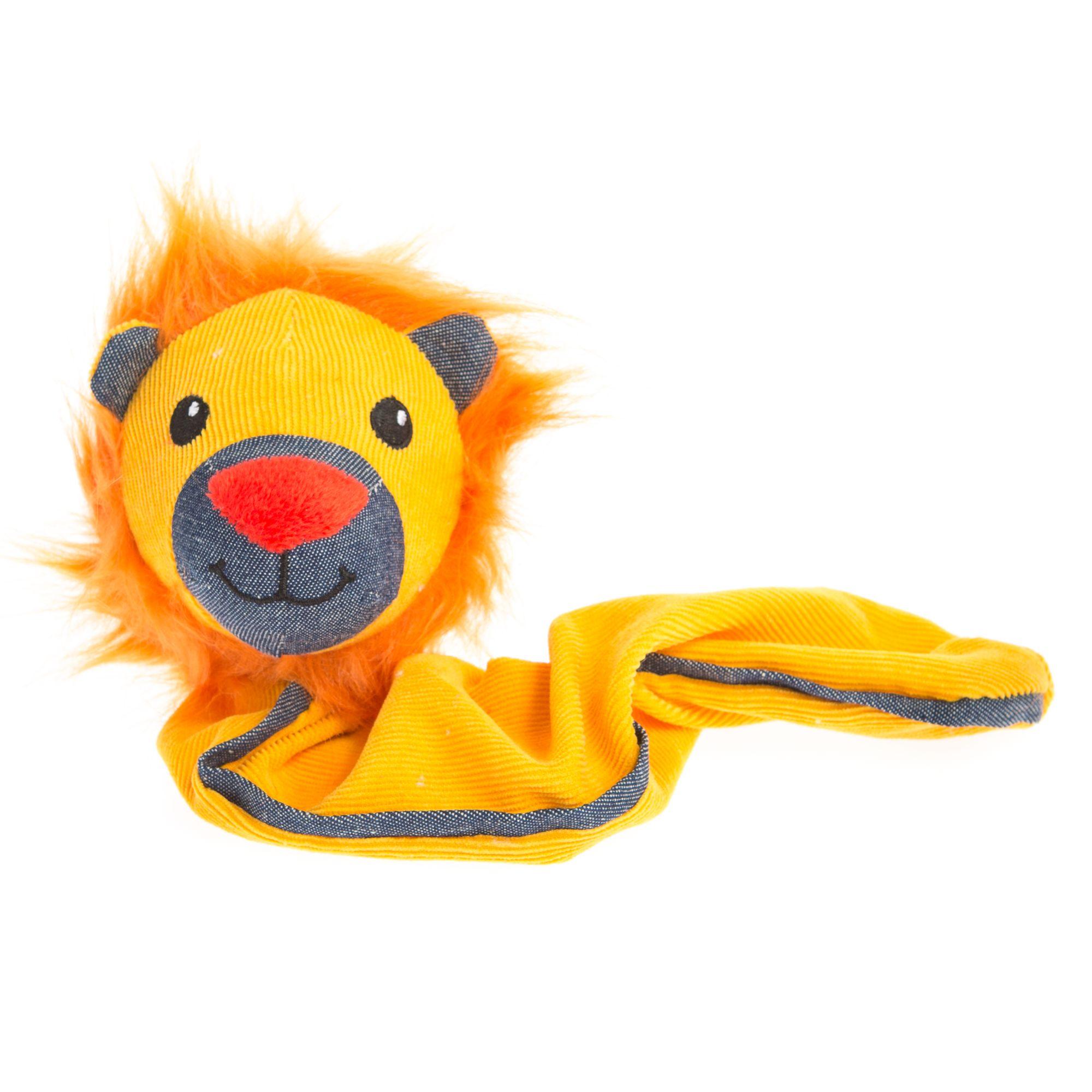 Grreat Choice Bungee Lion Dog Toy - Squeaker 5264702