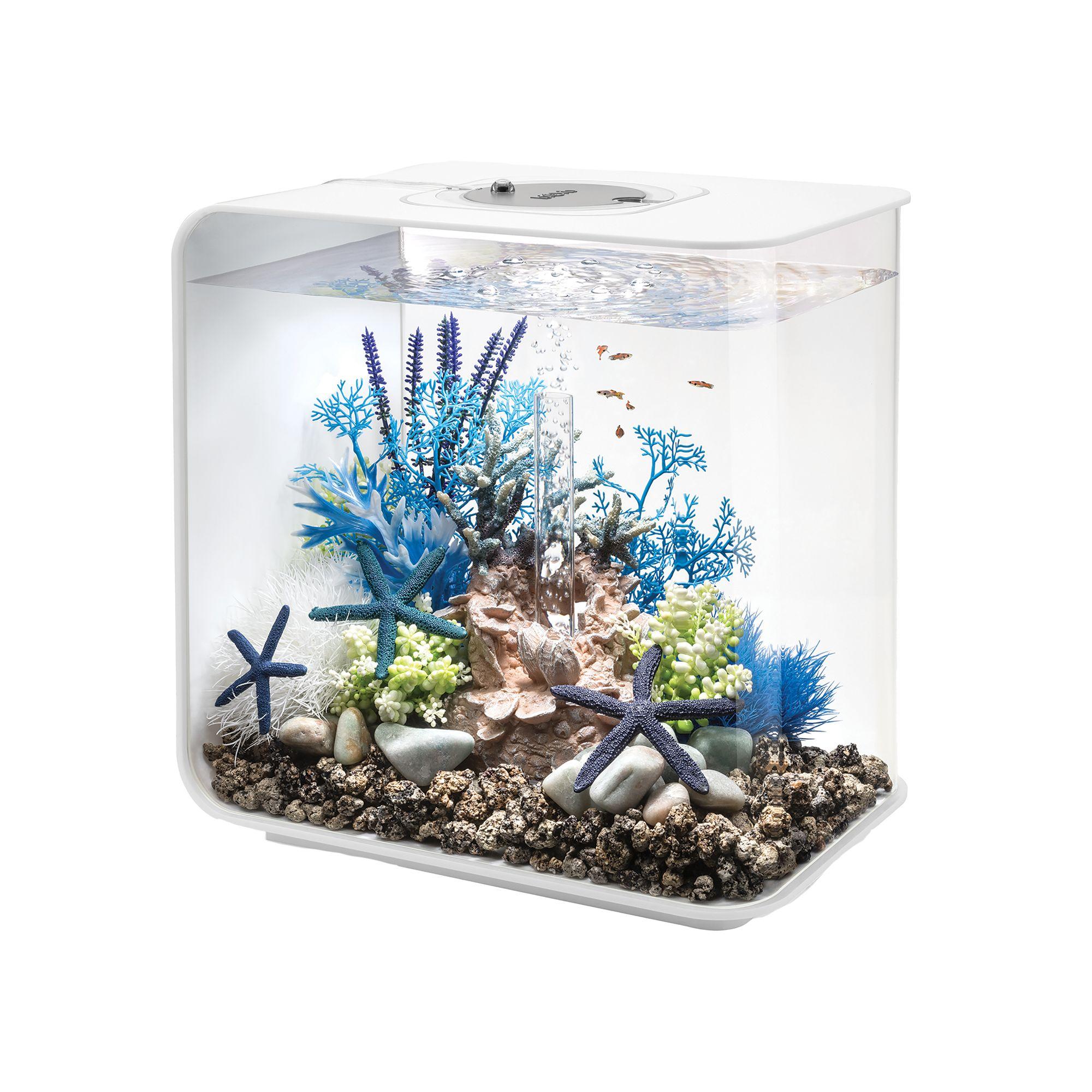 Biorb Flow 8 Gallon Led Aquarium White