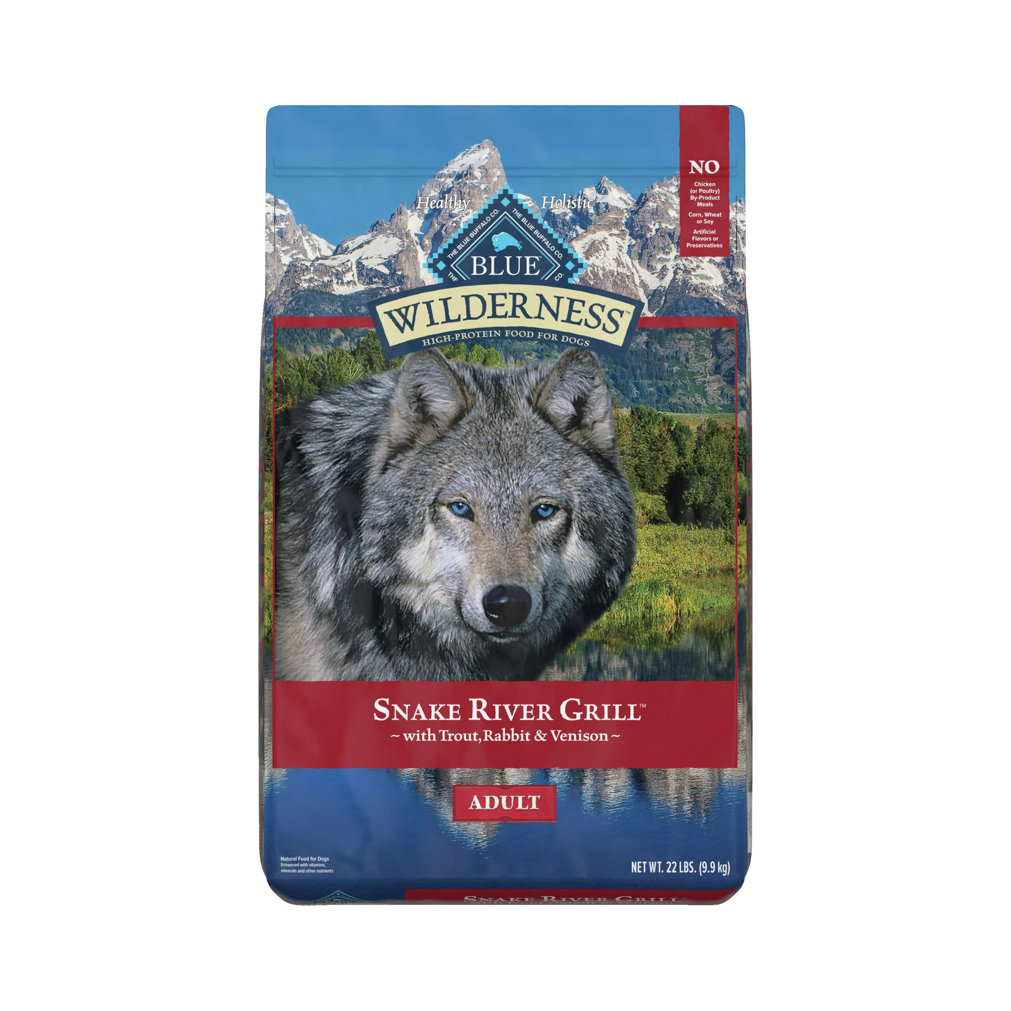 Blue Wilderness® Snake River Grill Dog Food - Natural, G