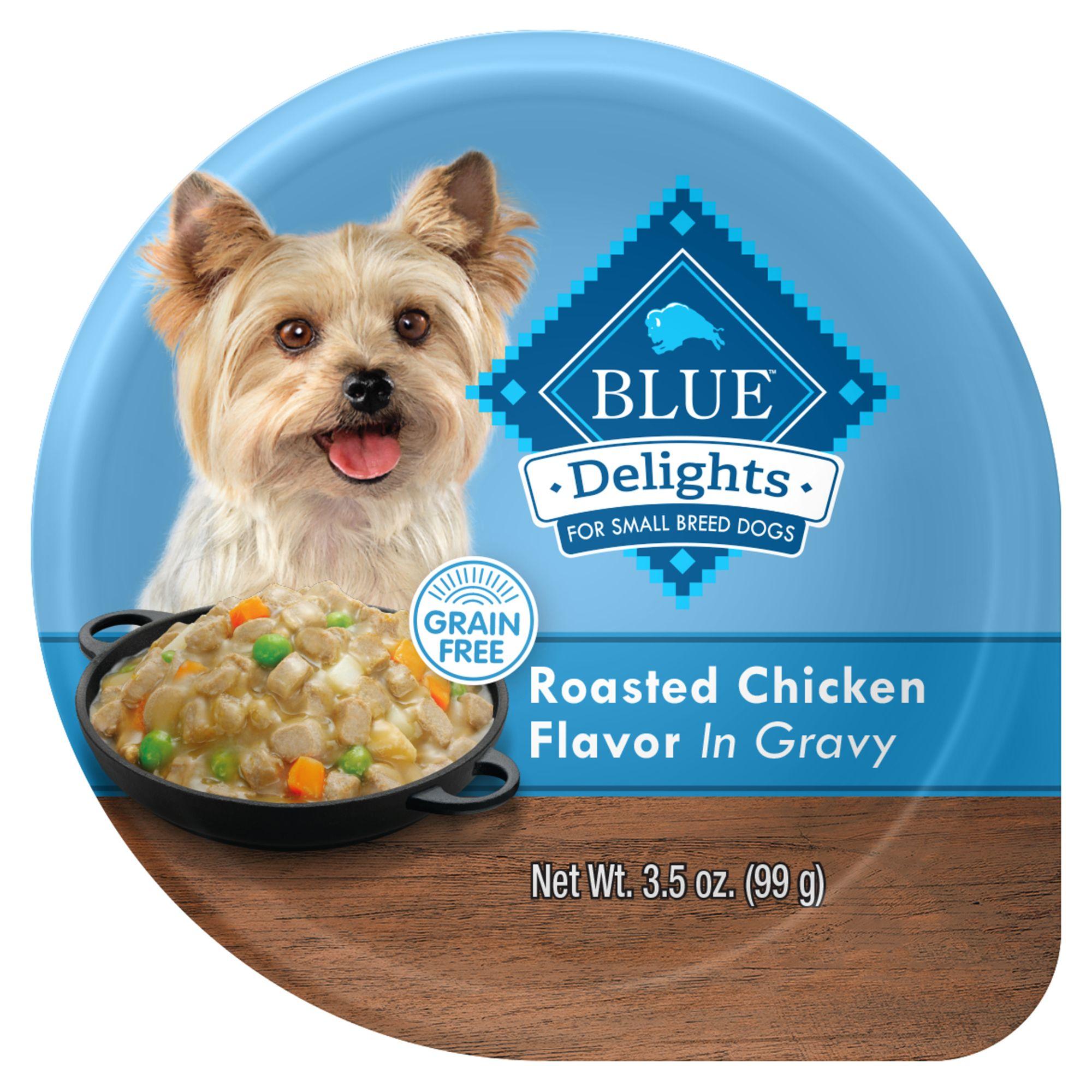 Blue Divine Delights, Dog Food - Natural, Rotisserie Chicken size: 3.5 Oz 5265525