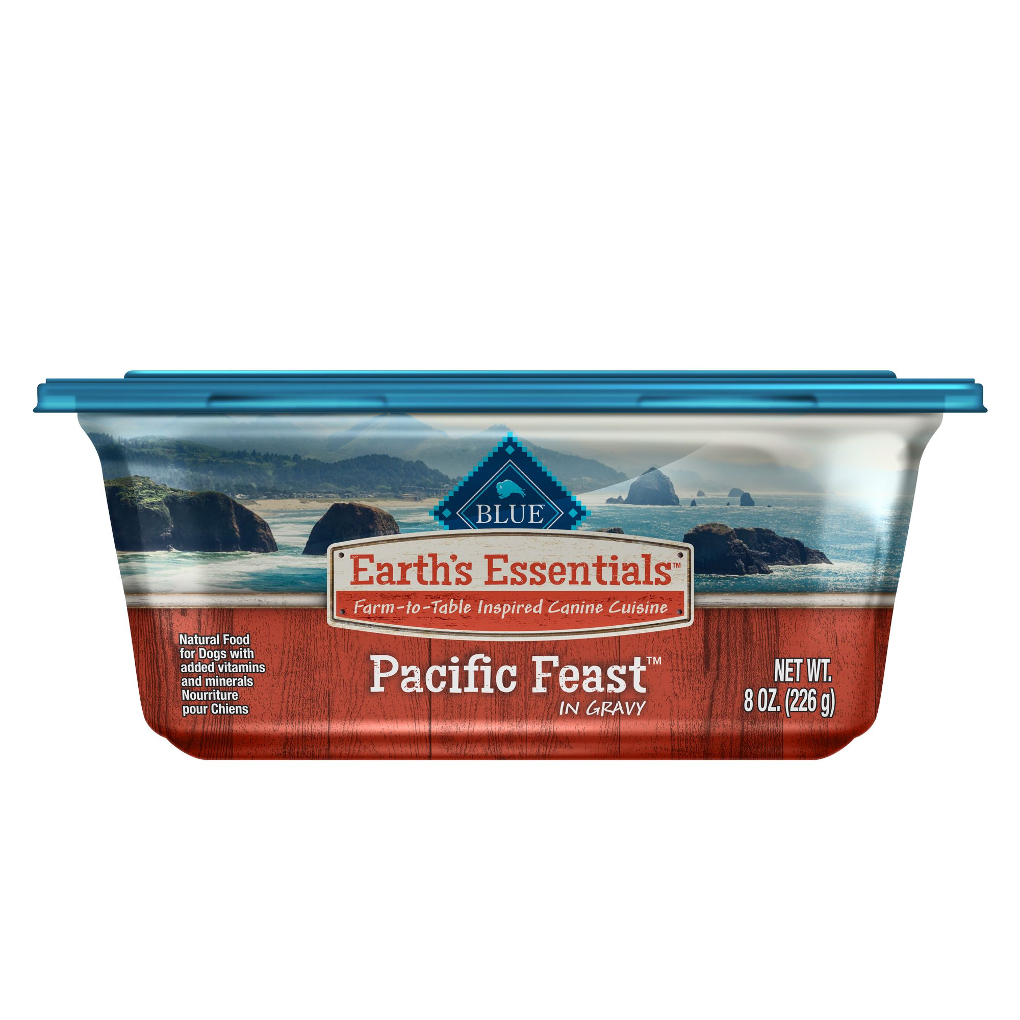 Blue Earth's Essentials Pacific Feast Dog Food - Natural, Salmon and Lentil size: 8 Oz, Blue Buffalo 5265598