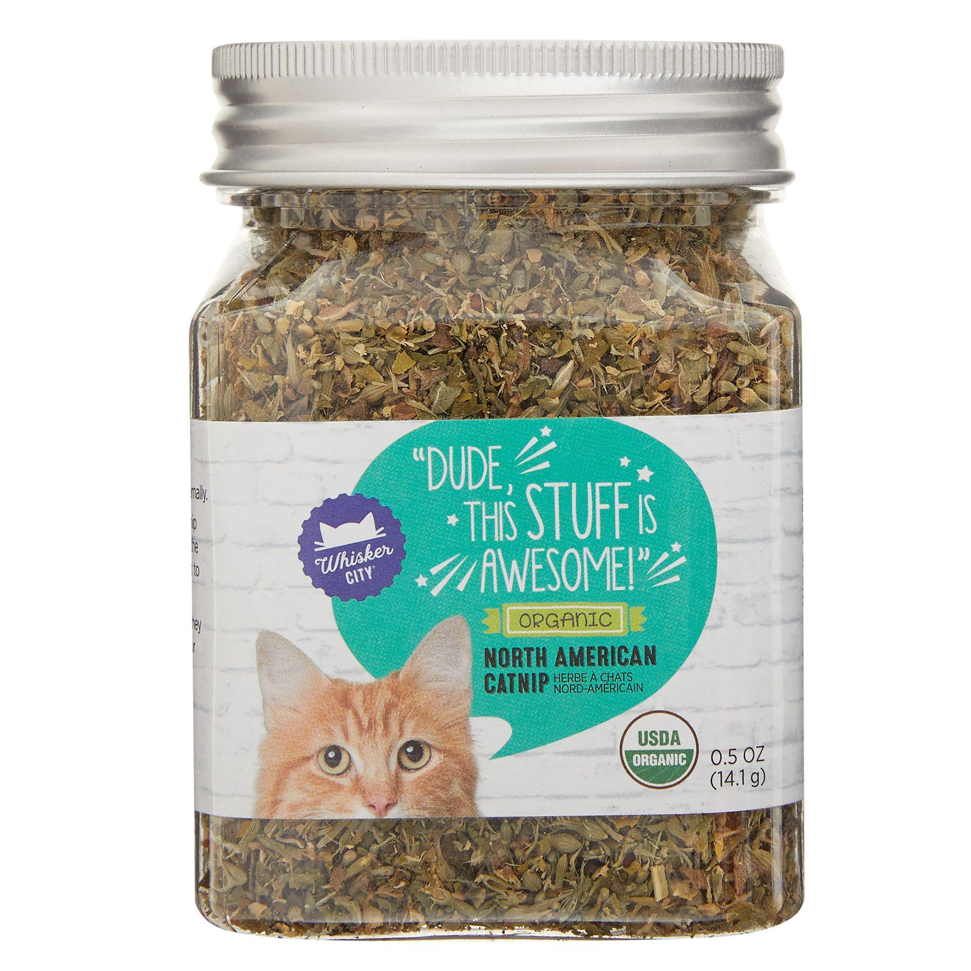 Whisker City Organic Catnip size: 0.5 Oz 5266724