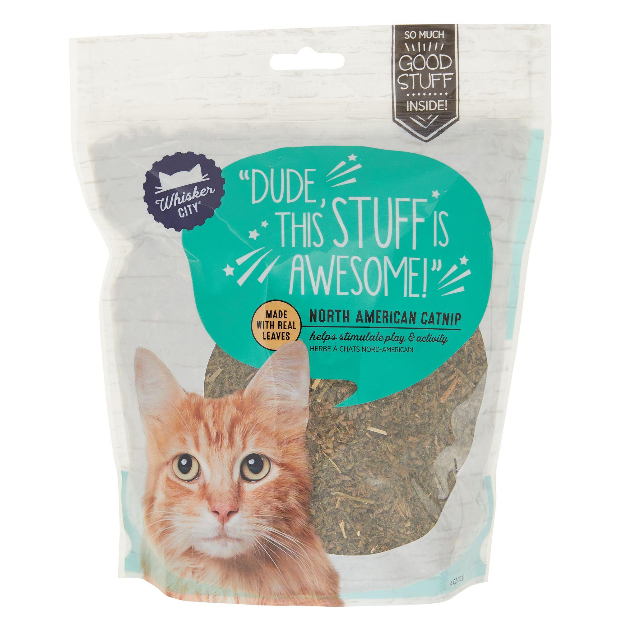 Whisker City Natural Catnip size: 4 Oz 5266801