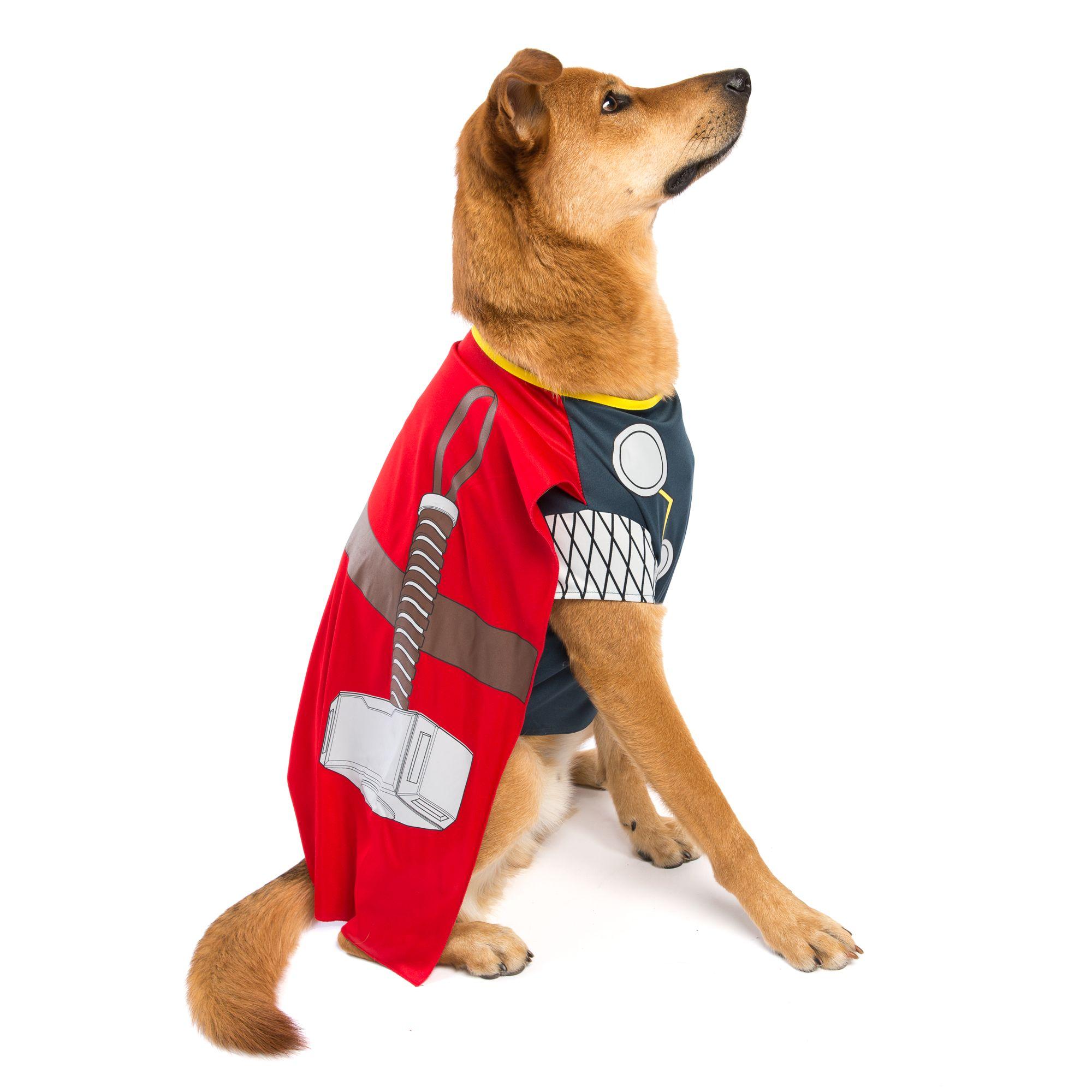 Marvel Halloween Thor Dog Costume Size 2x Large