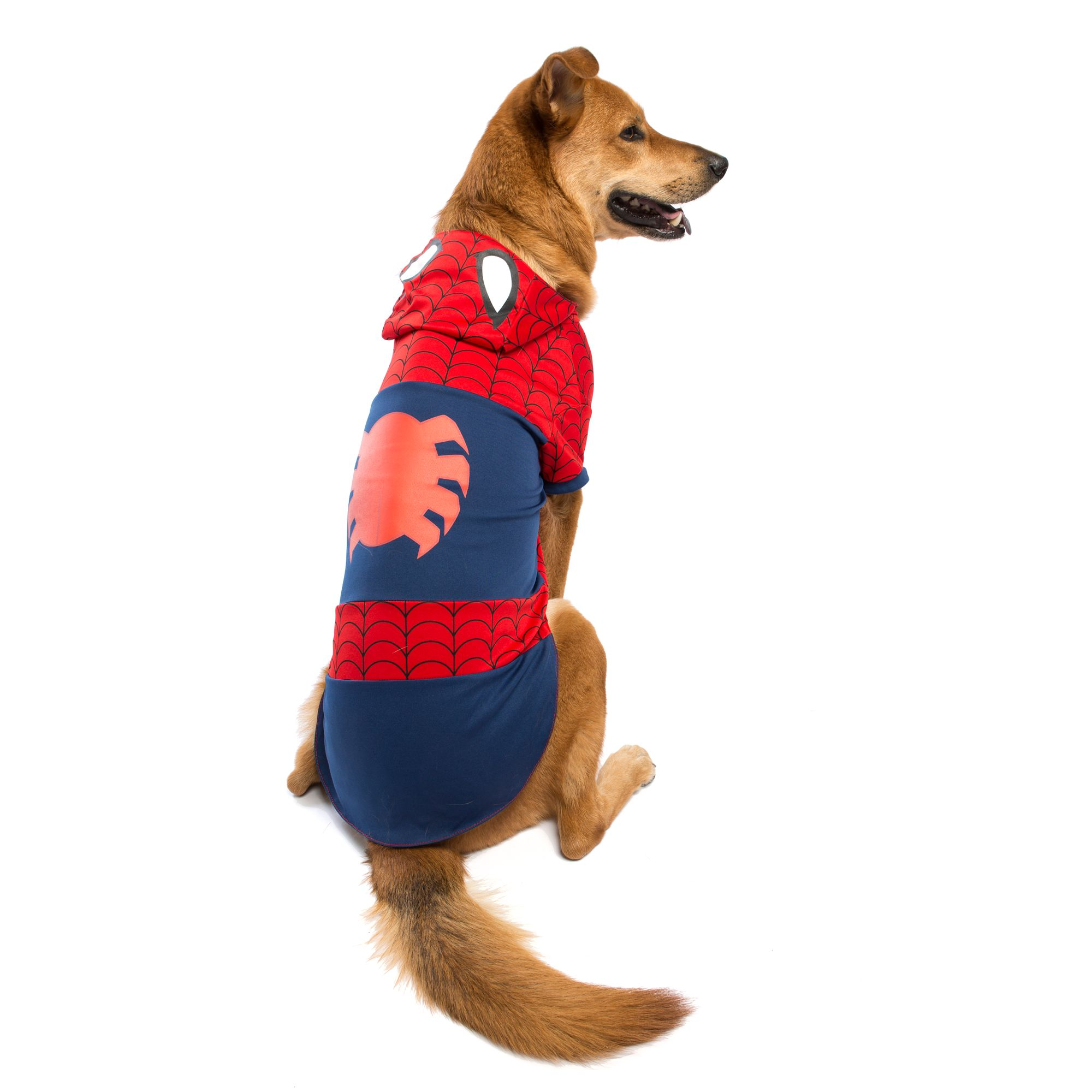 Marvel Halloween Spiderman Dog Costume Size 2x Large