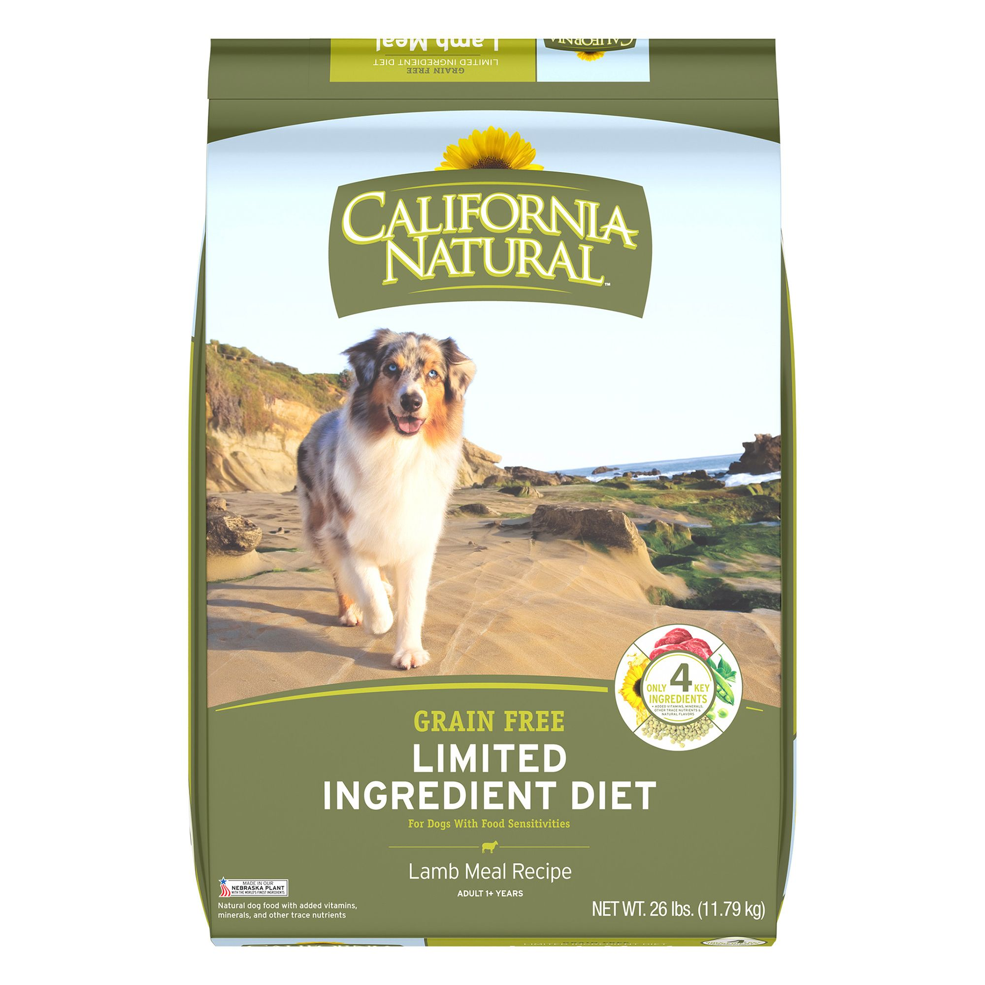California Natural Dog Food Grain Free Lamb