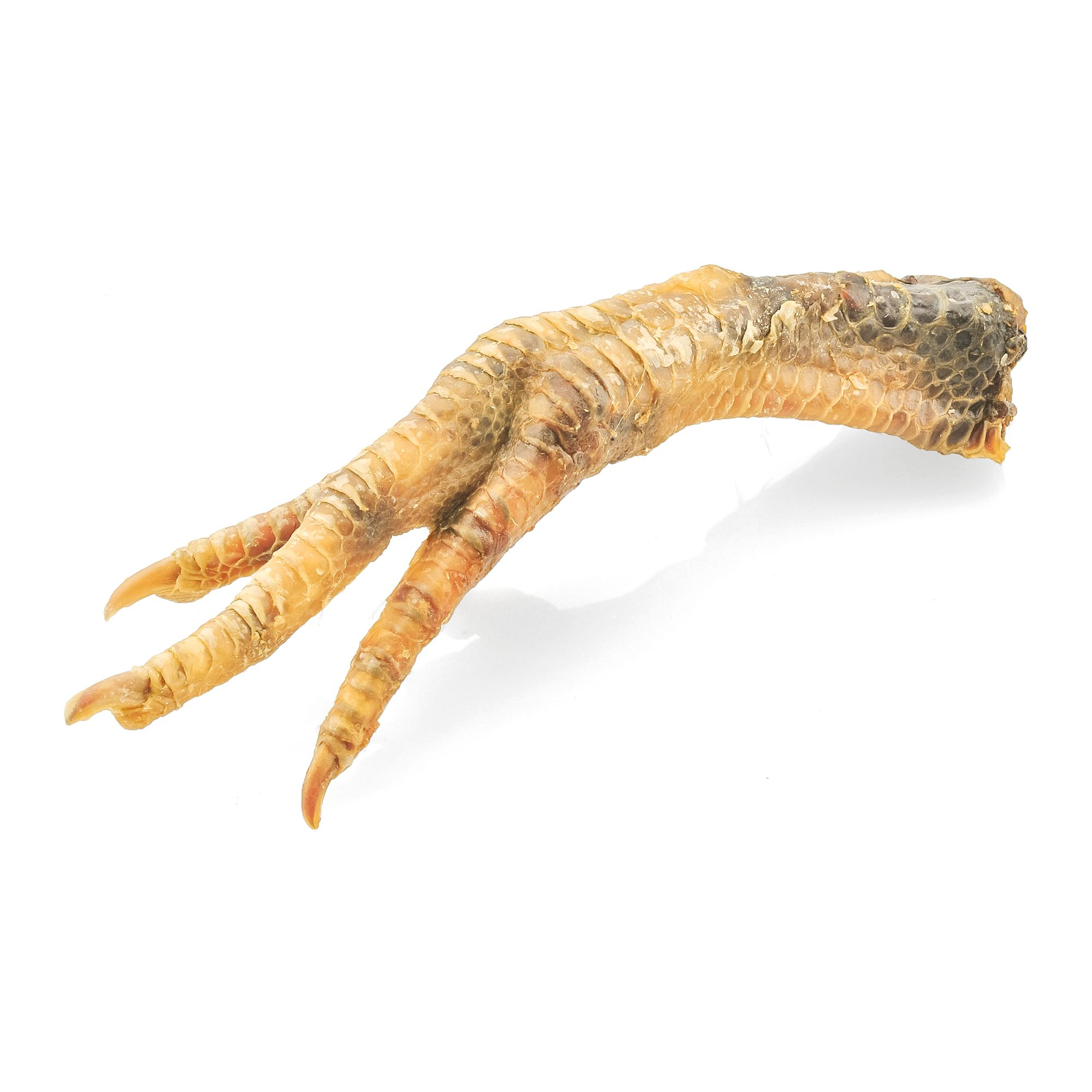 Barkworthies Chicken Feet Dog Treat Natural Size 100 Count