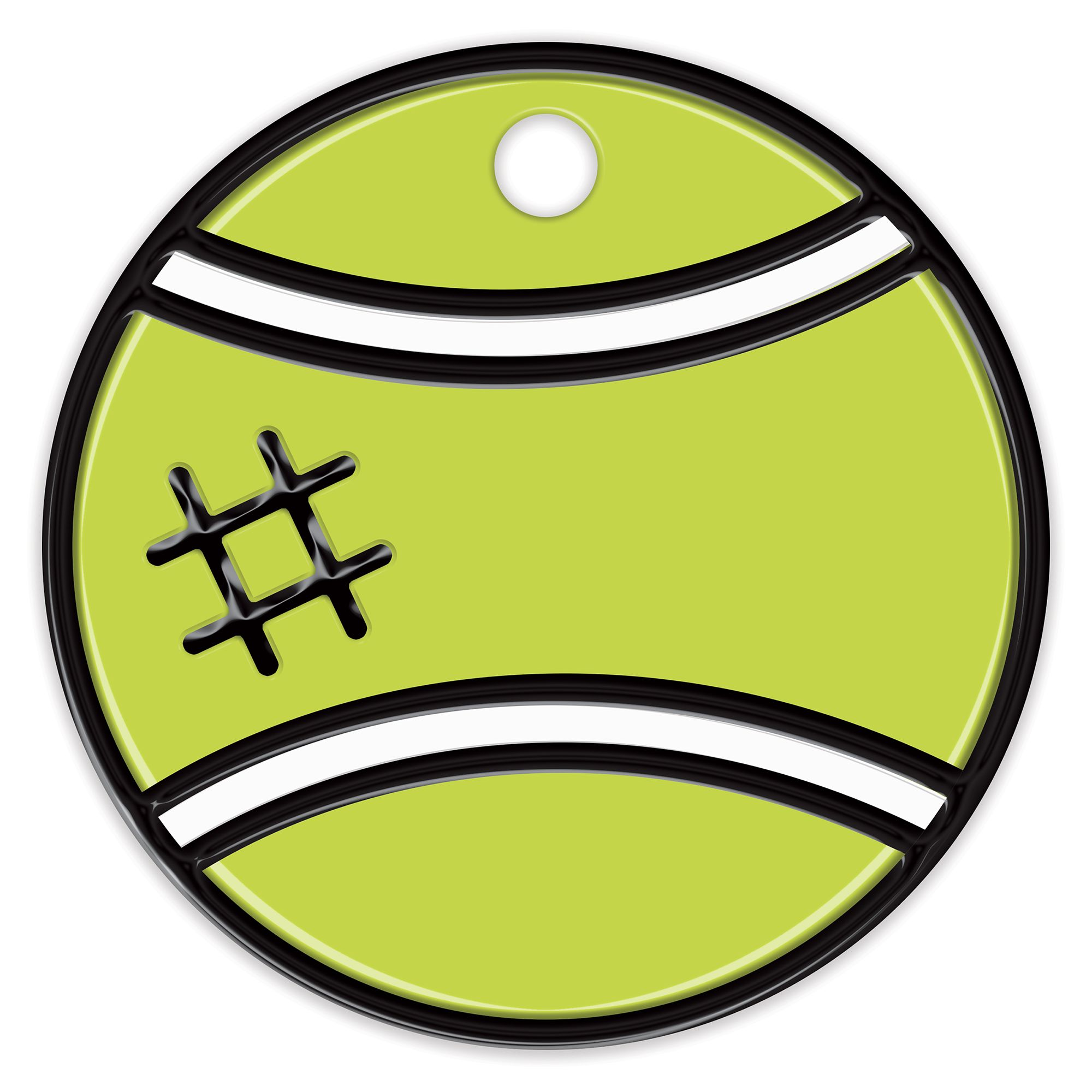 Petfetch Smart Pet Tag Tennis Ball Smart Tags