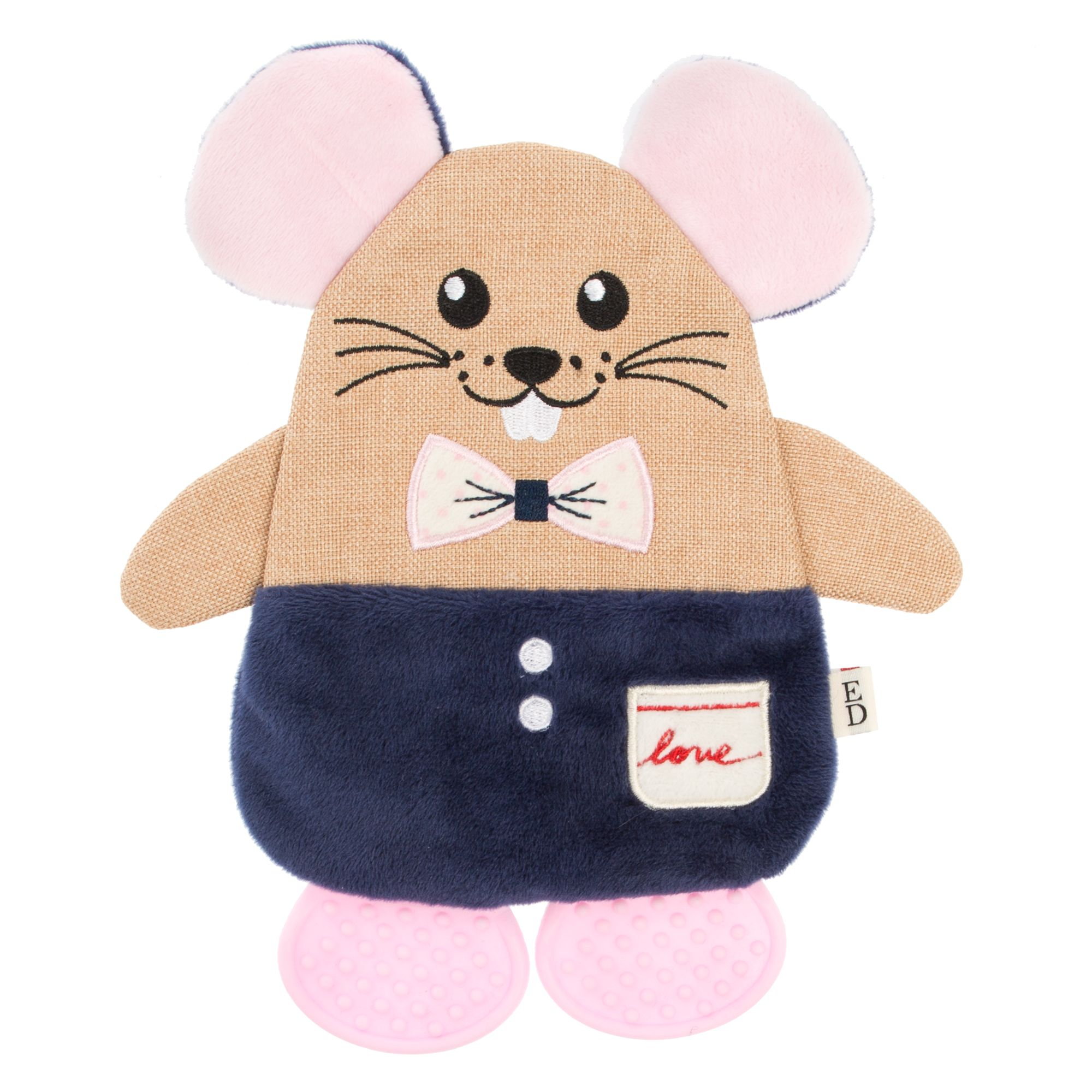 ED Ellen DeGeneres Mouse Flattie Dog Toy 5269926