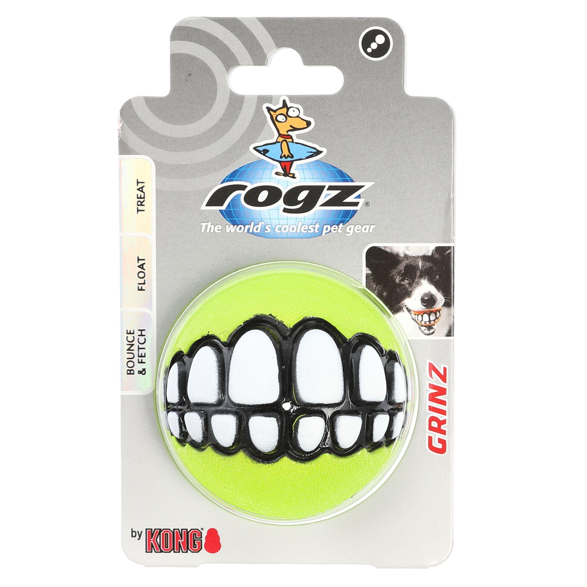 Kong rogz Grinz Dog Toy, Green 5270279