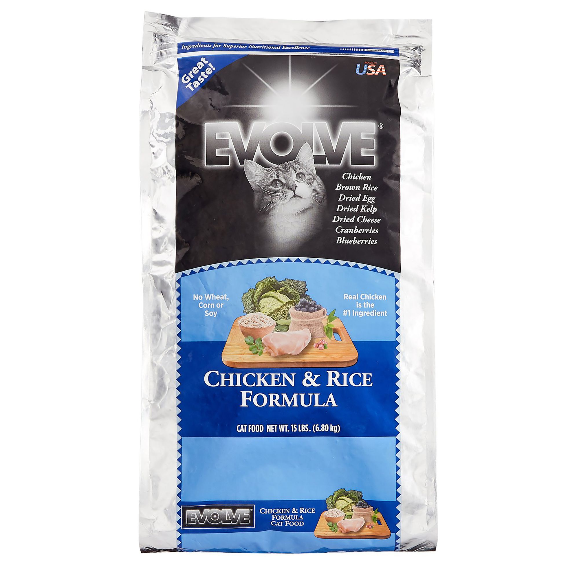 Evolve Adult Dog Food Chicken And Rice Size 15 Lb