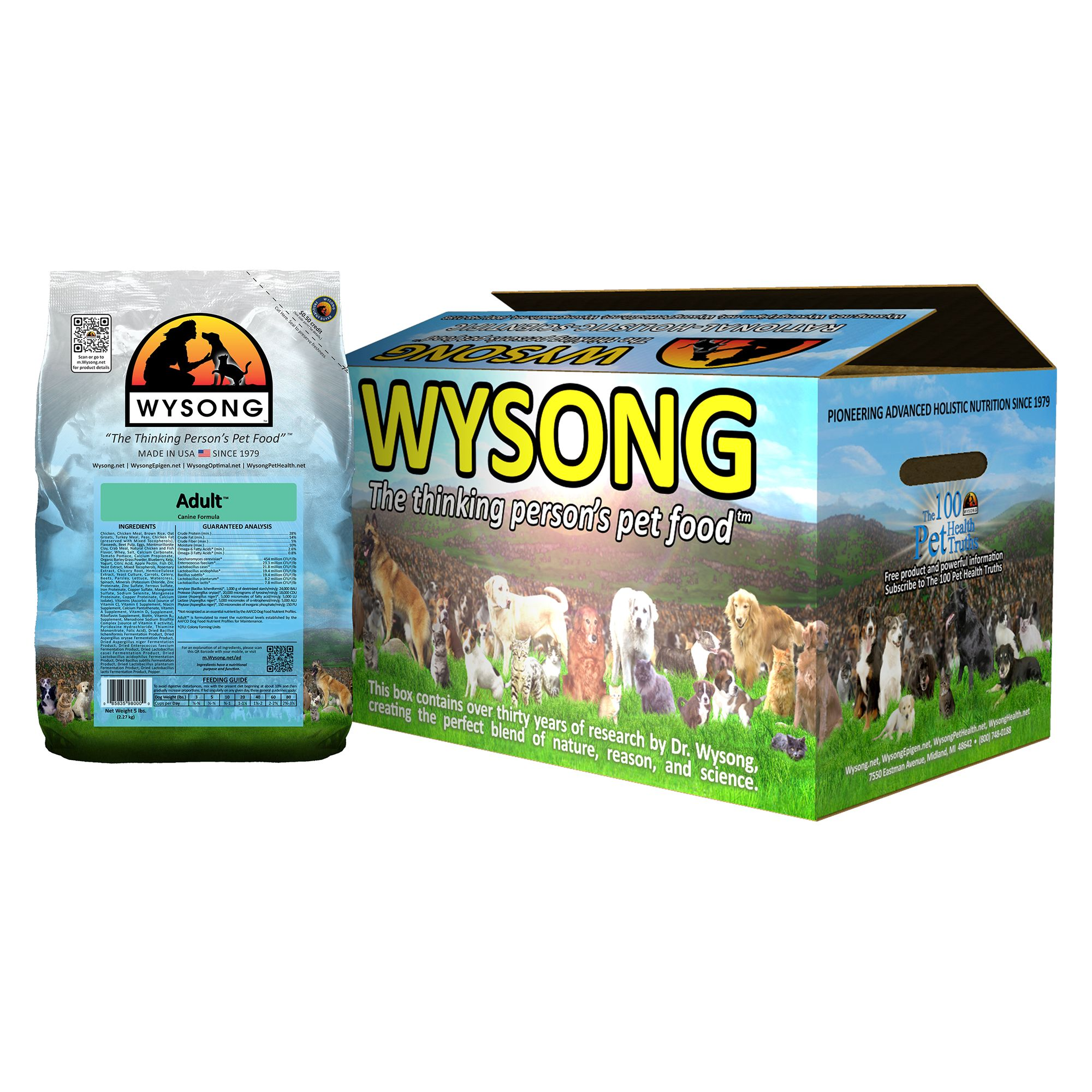 Wysong Adult Dog Food Chicken Size 20 Lb