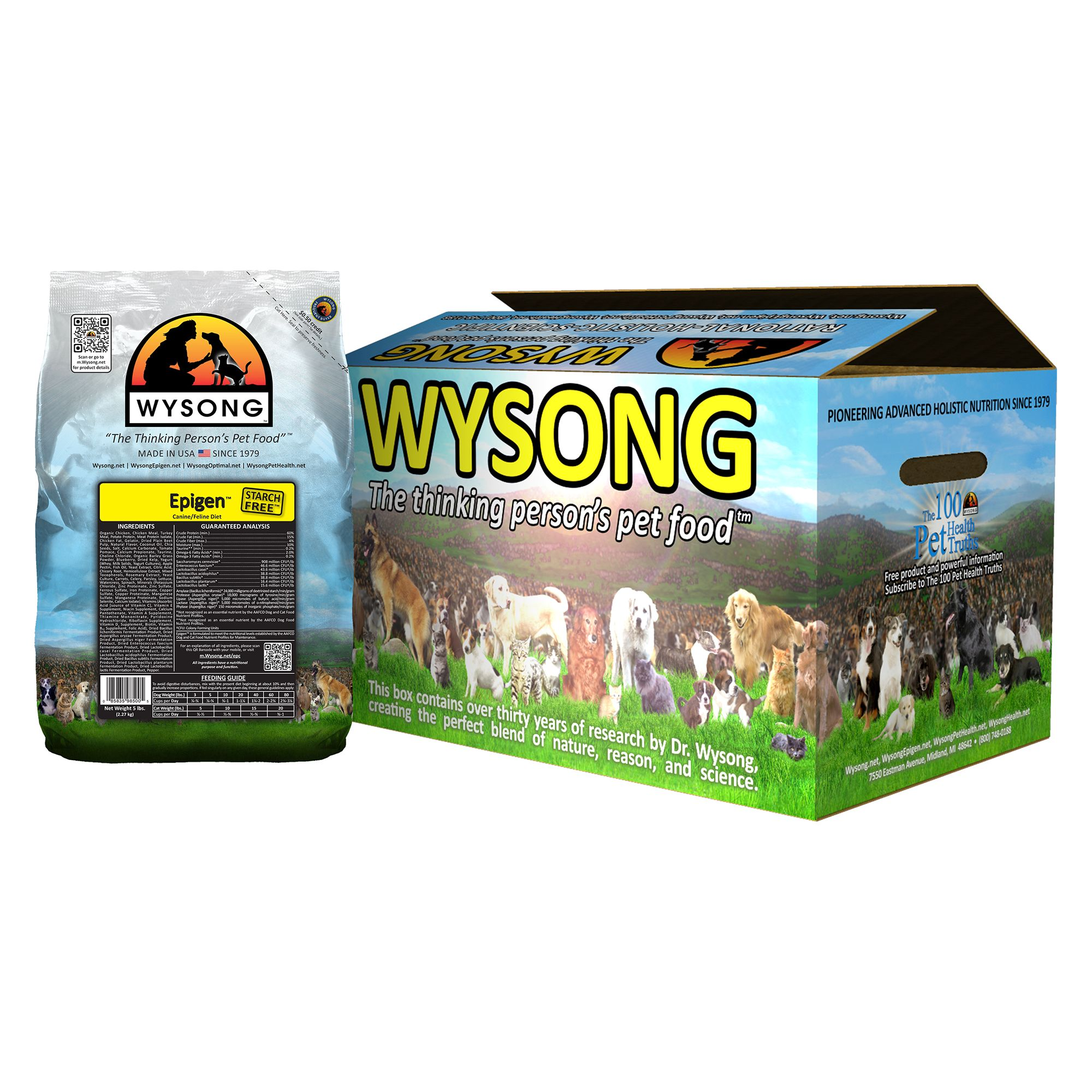 Wysong Epigen Dog And Cat Food Chicken Size 20 Lb
