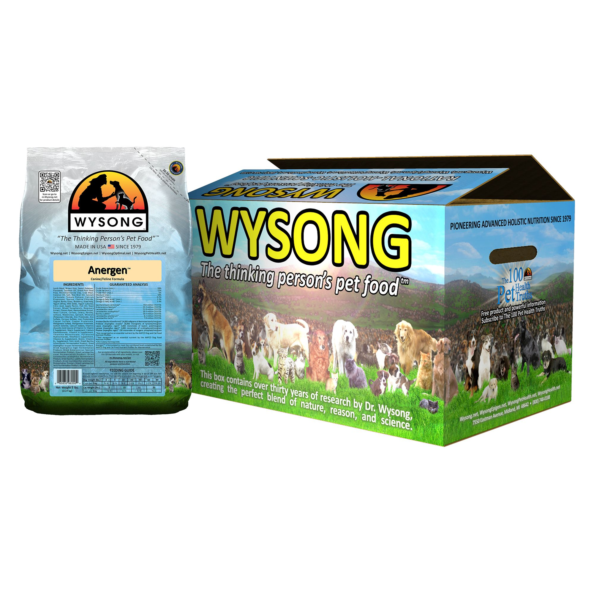 Wysong Anergen Dog And Cat Food Lamb Size 20 Lb