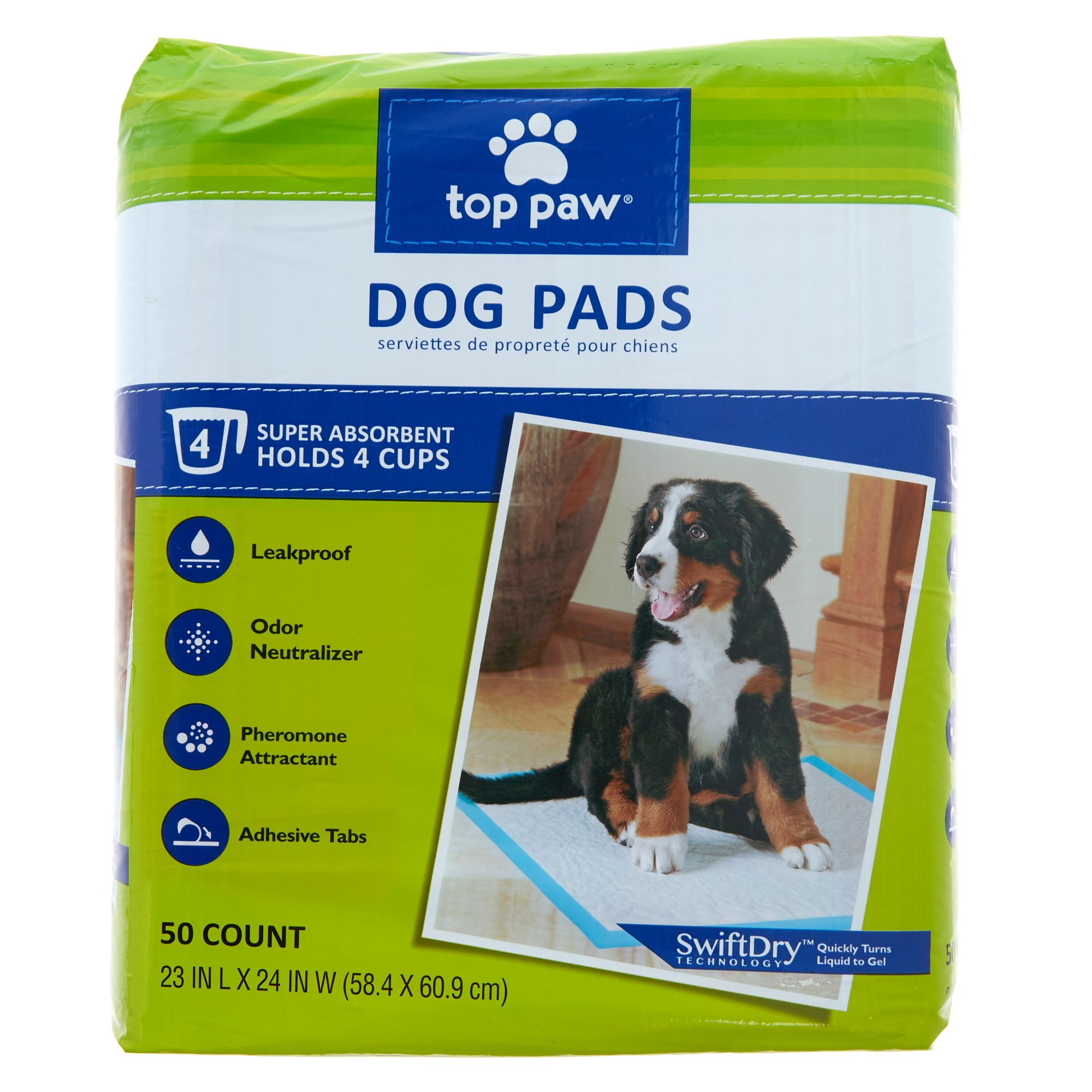 Top Paw Dog Pads size: 50 Count 5270582