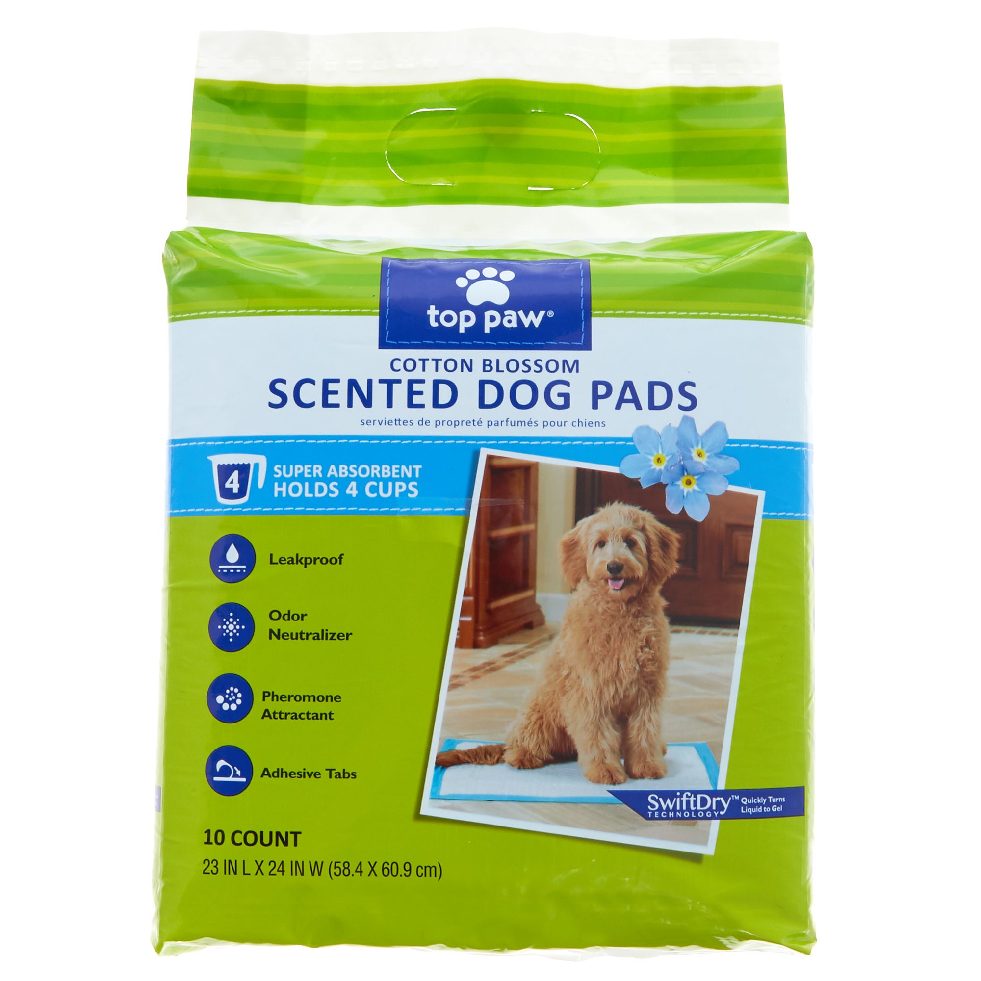 Top Paw Scented Dog Pads size: 10 Count 5270600