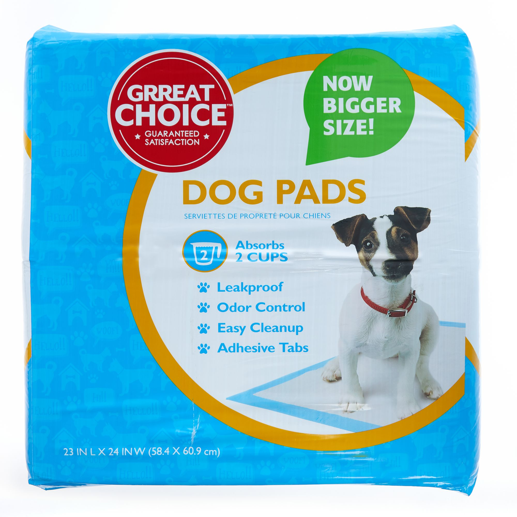 Grreat Choice Dog Pads size: 150 Count