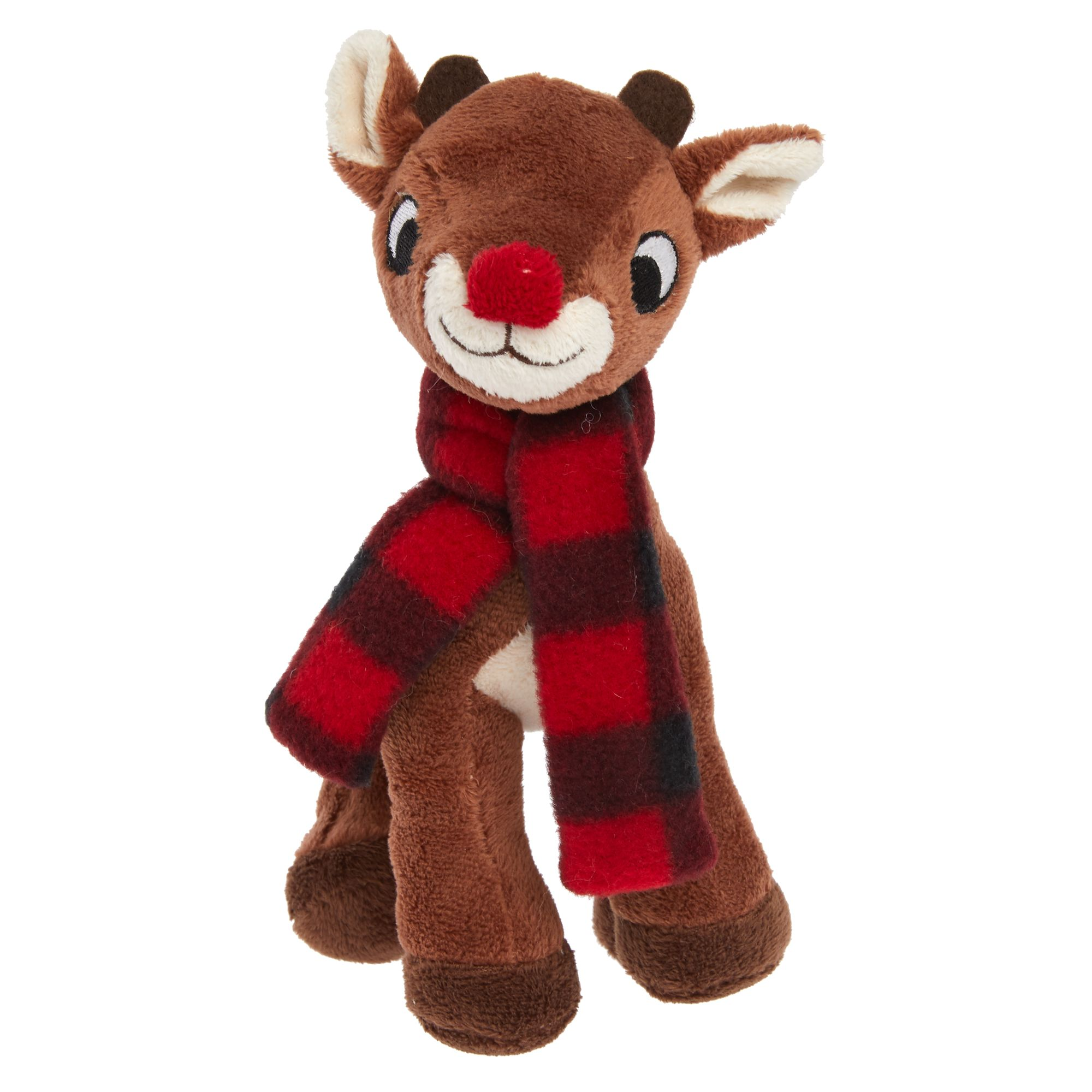 Rudolph Holiday Dog Toy - Plush, Squeaker 5270651