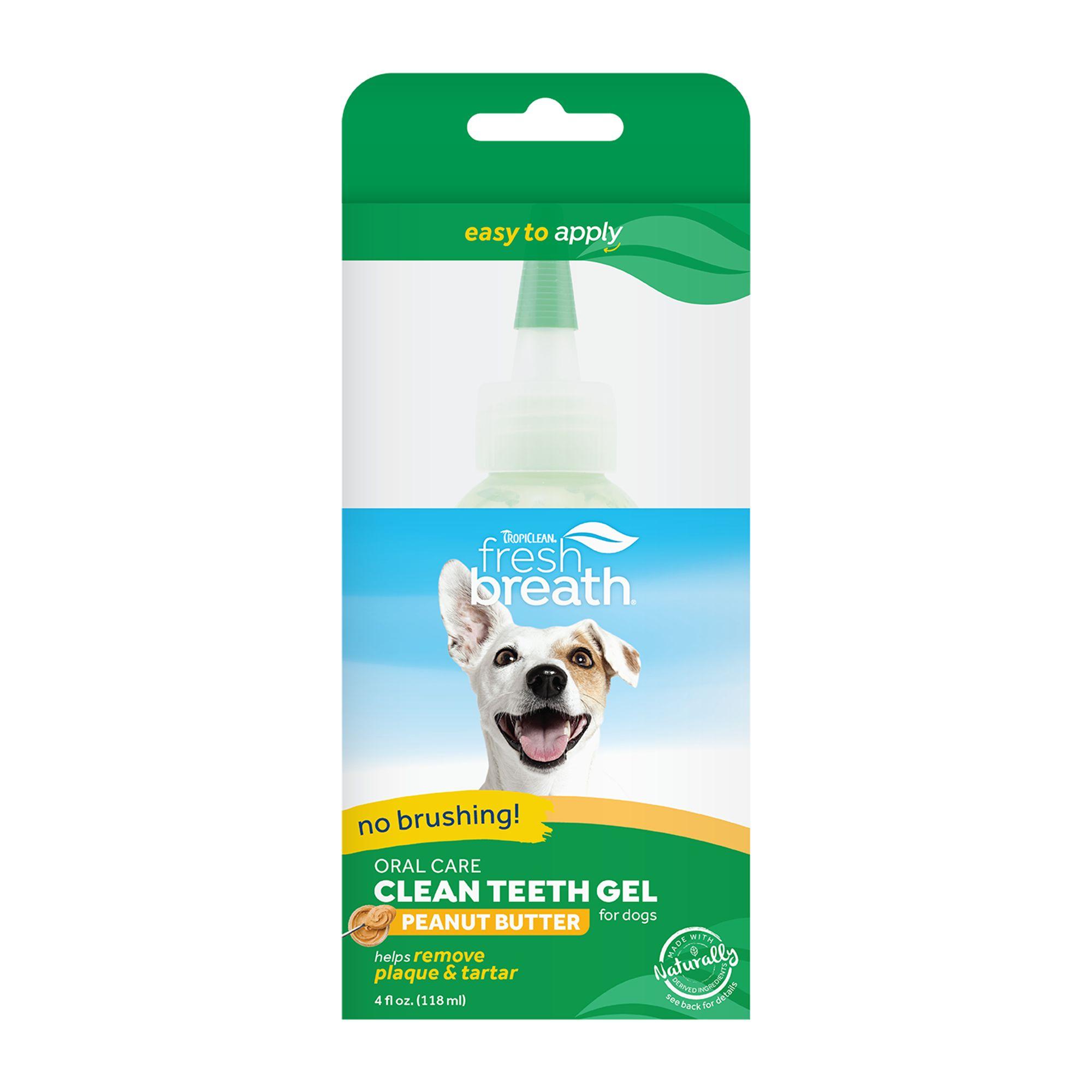 TropiClean Fresh Breath Clean Teeth Oral Care Gel size: 4 Fl Oz