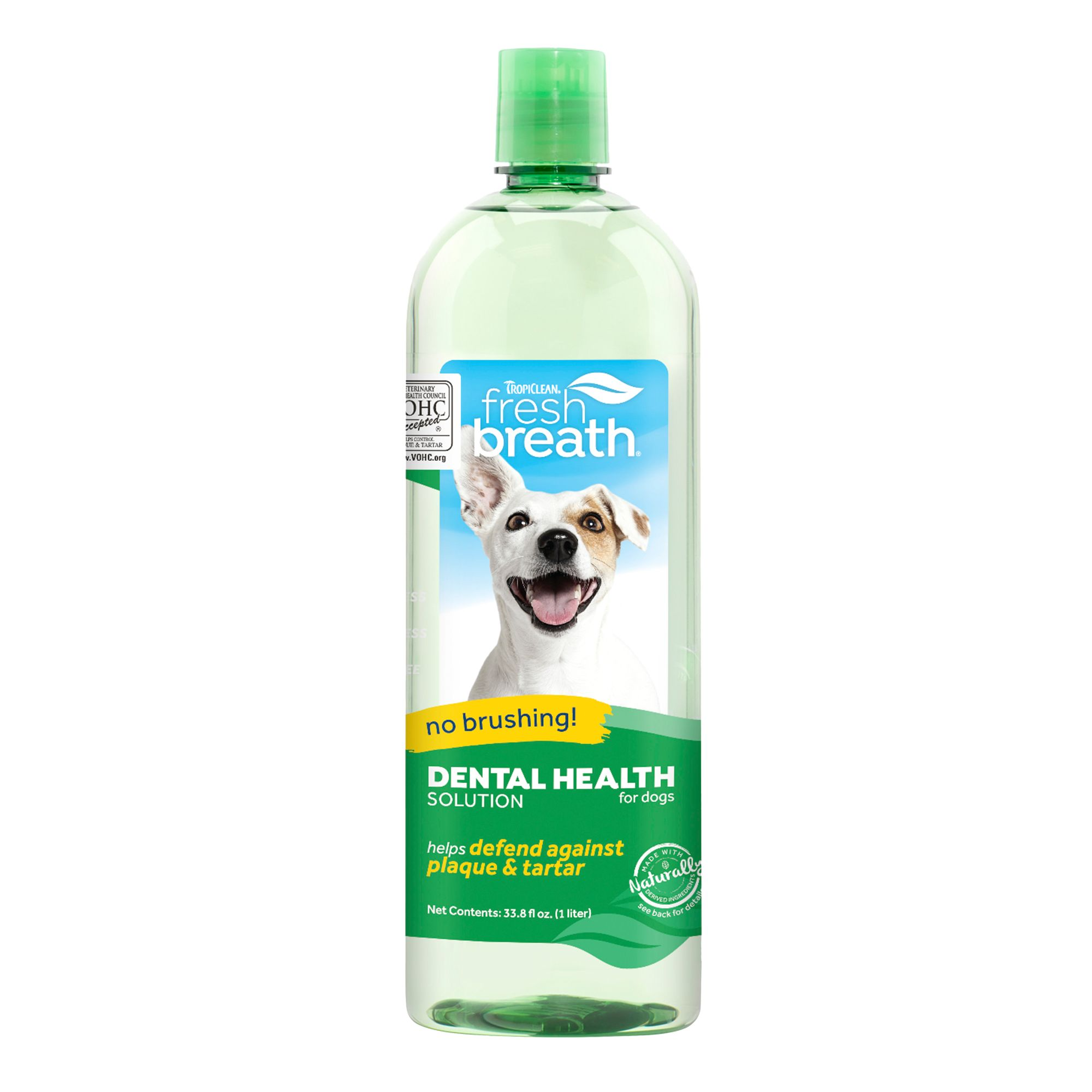 TropiClean Fresh Breath Oral Care Water Additive size: 33.8 Fl Oz