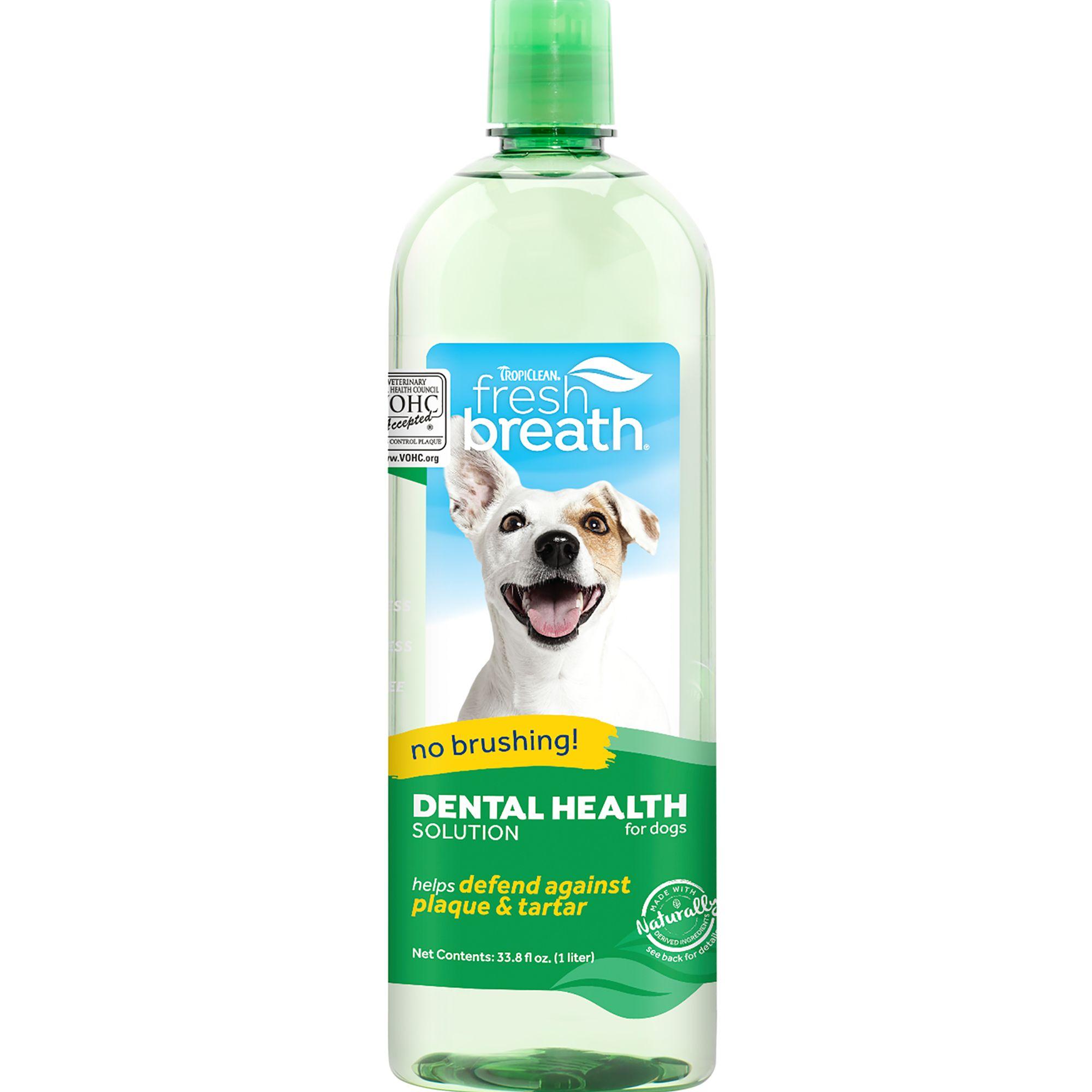 TropiClean Fresh Breath Oral Care Water Additive size: 33.8 Fl Oz