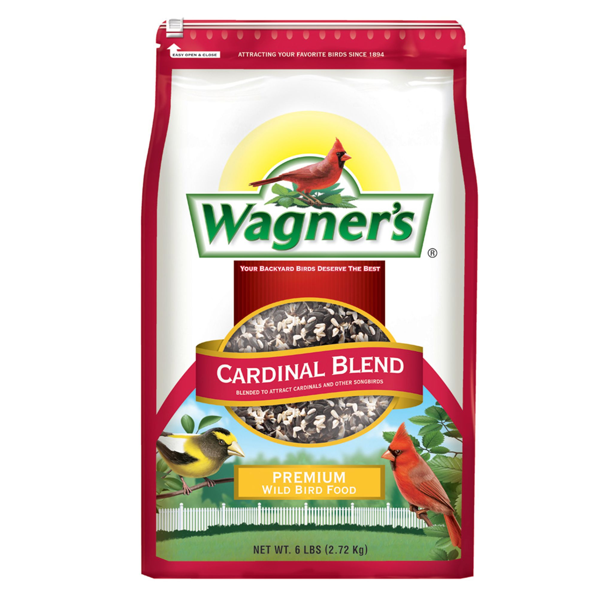 Wagner's Cardinal Blend Bird Seed size: 6 Lb, Wagners, Grain, Grain Products 5271483