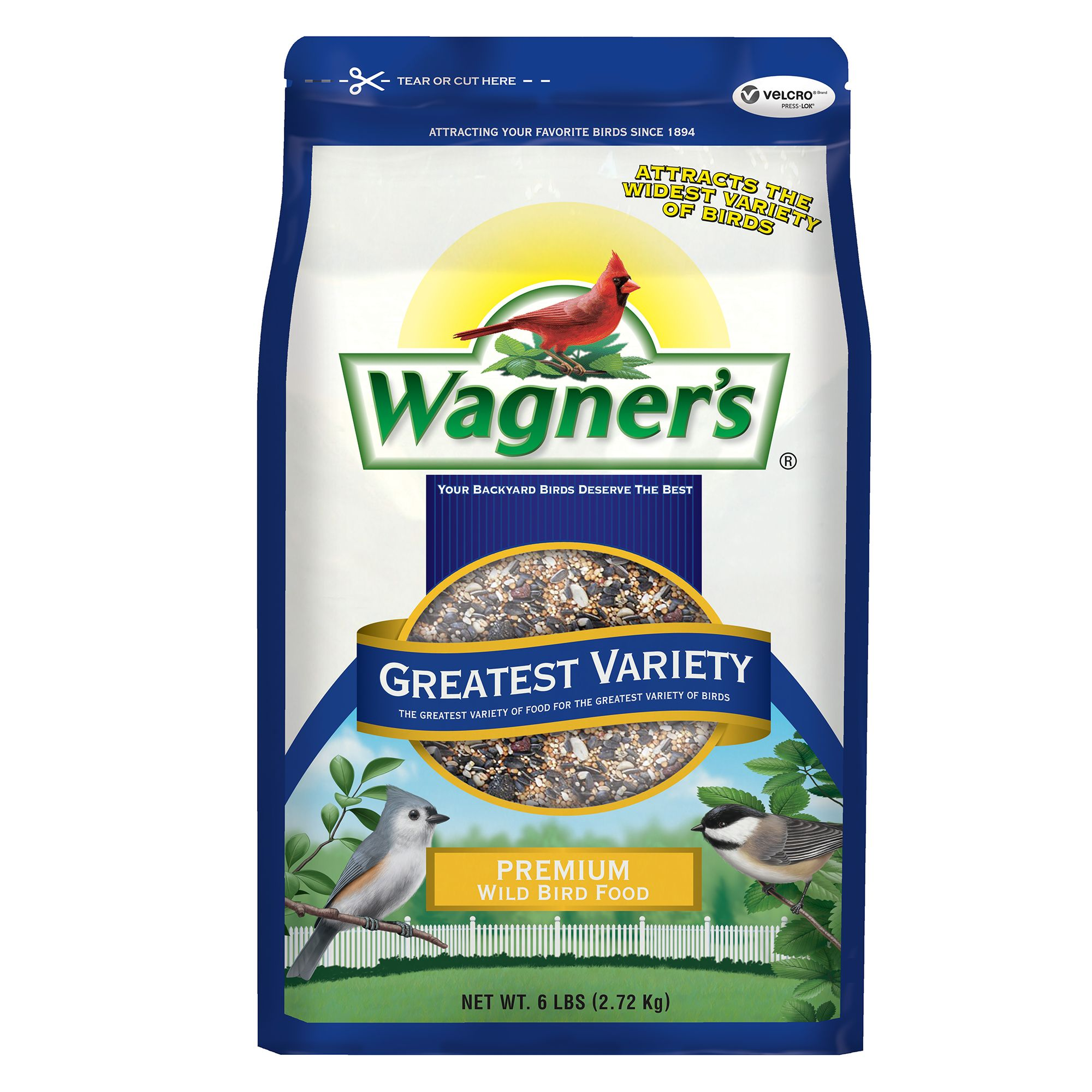 Wagner's Greatest Variety Wild Bird Seed size: 6 Lb, Wagners, Grain, Grain Products 5271535