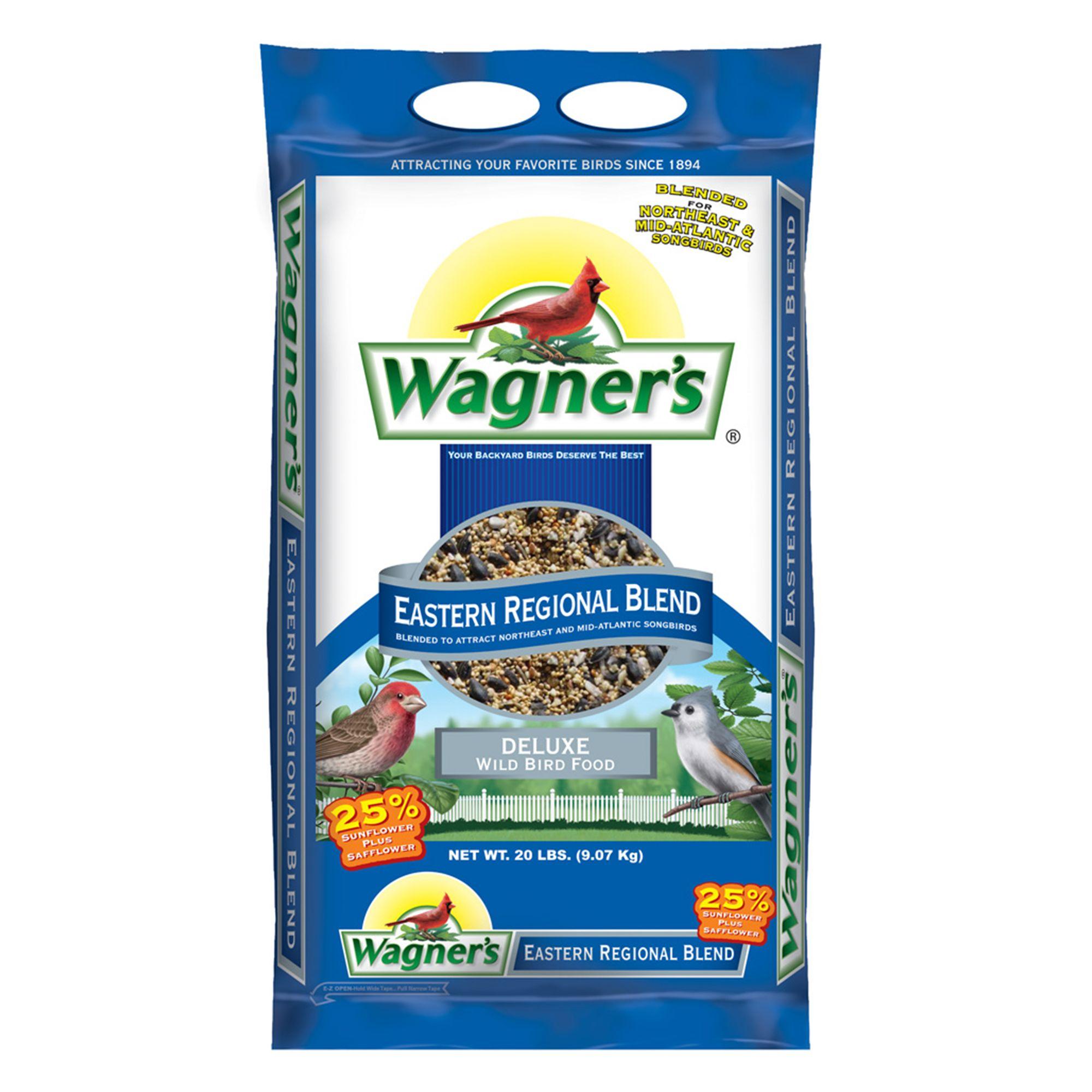 Wagner's Eastern Regional Blend Wild Bird Seed size: 20 Lb, Wagners, Grain, Grain Products 5271541