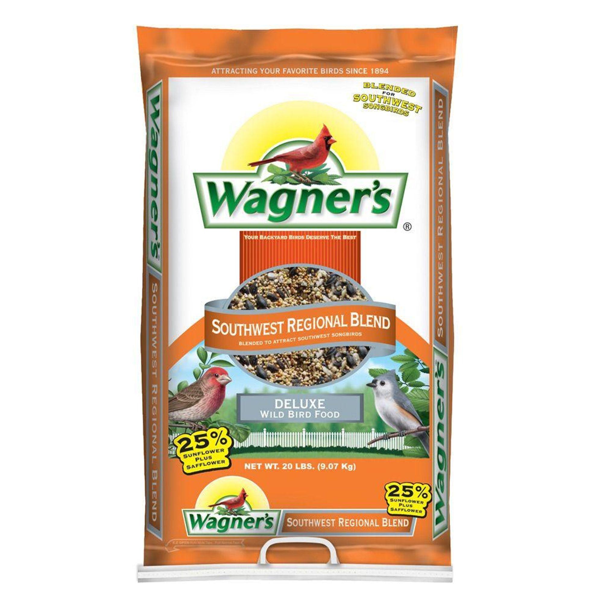 Wagner's Southwestern Regional Blend Wild Bird Seed size: 20 Lb, Wagners, Grain, Grain Products 5271544