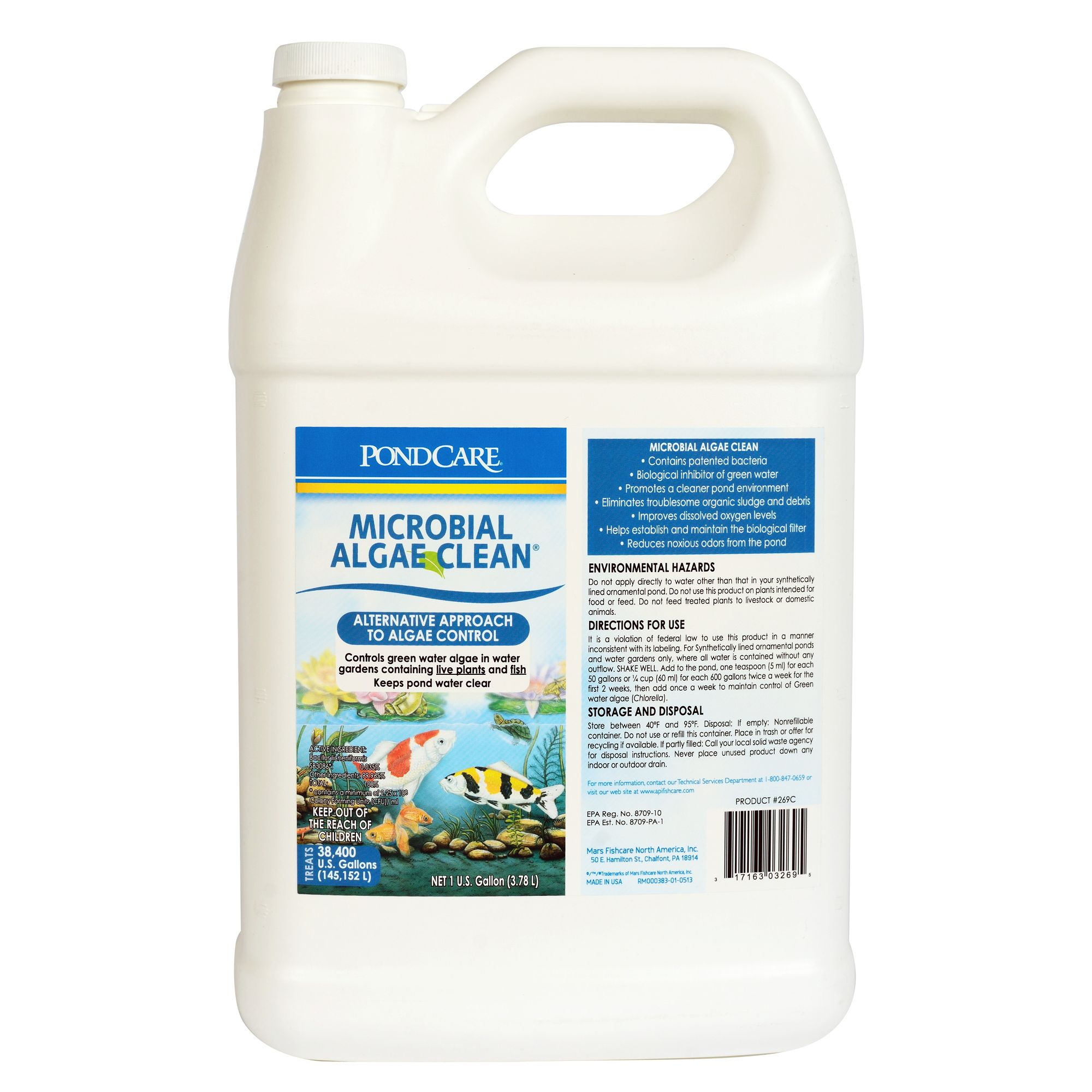 Api Pond Microbial Algae Clean size: 1 Gal