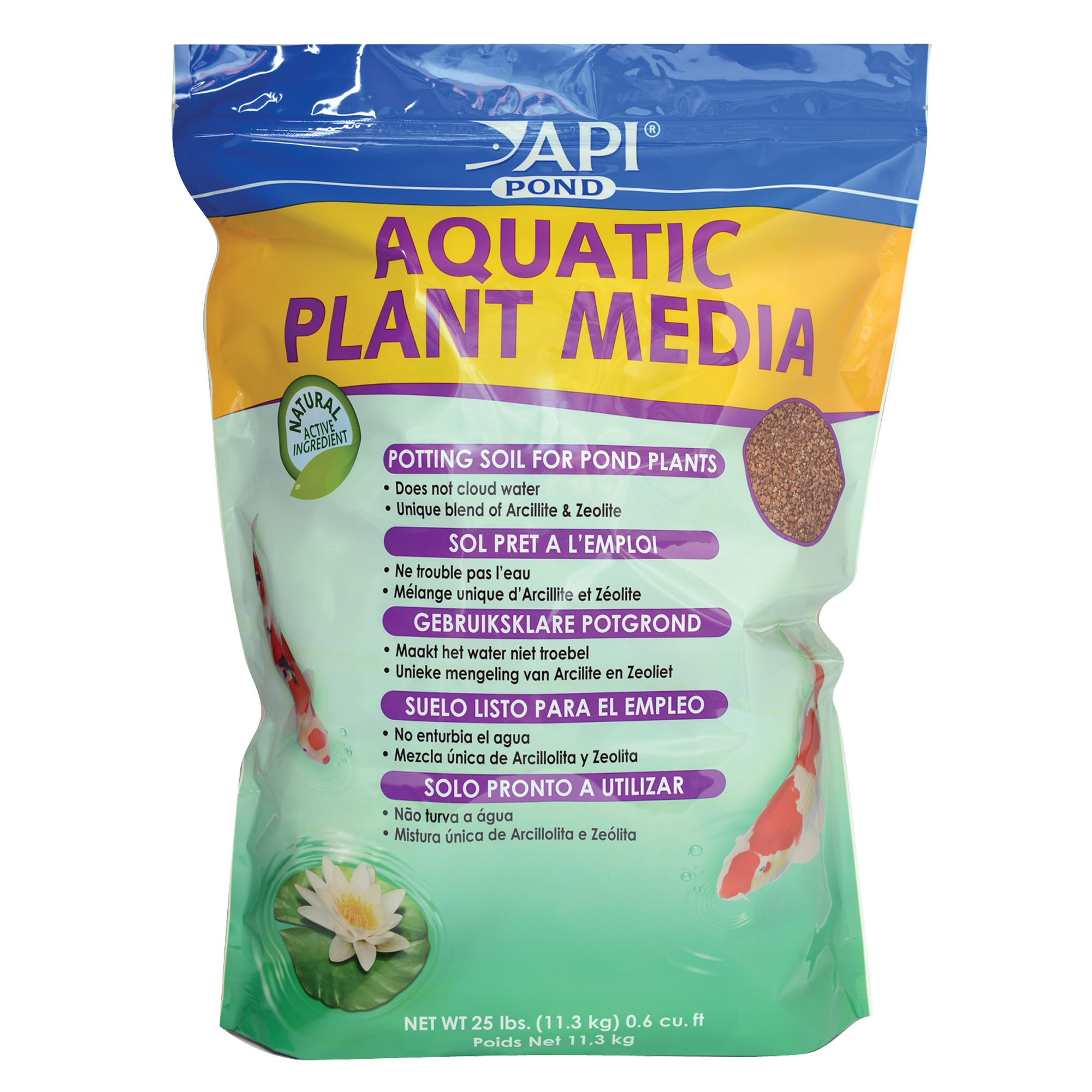 Api Pond Aquatic Plant Media Size 25 Lb