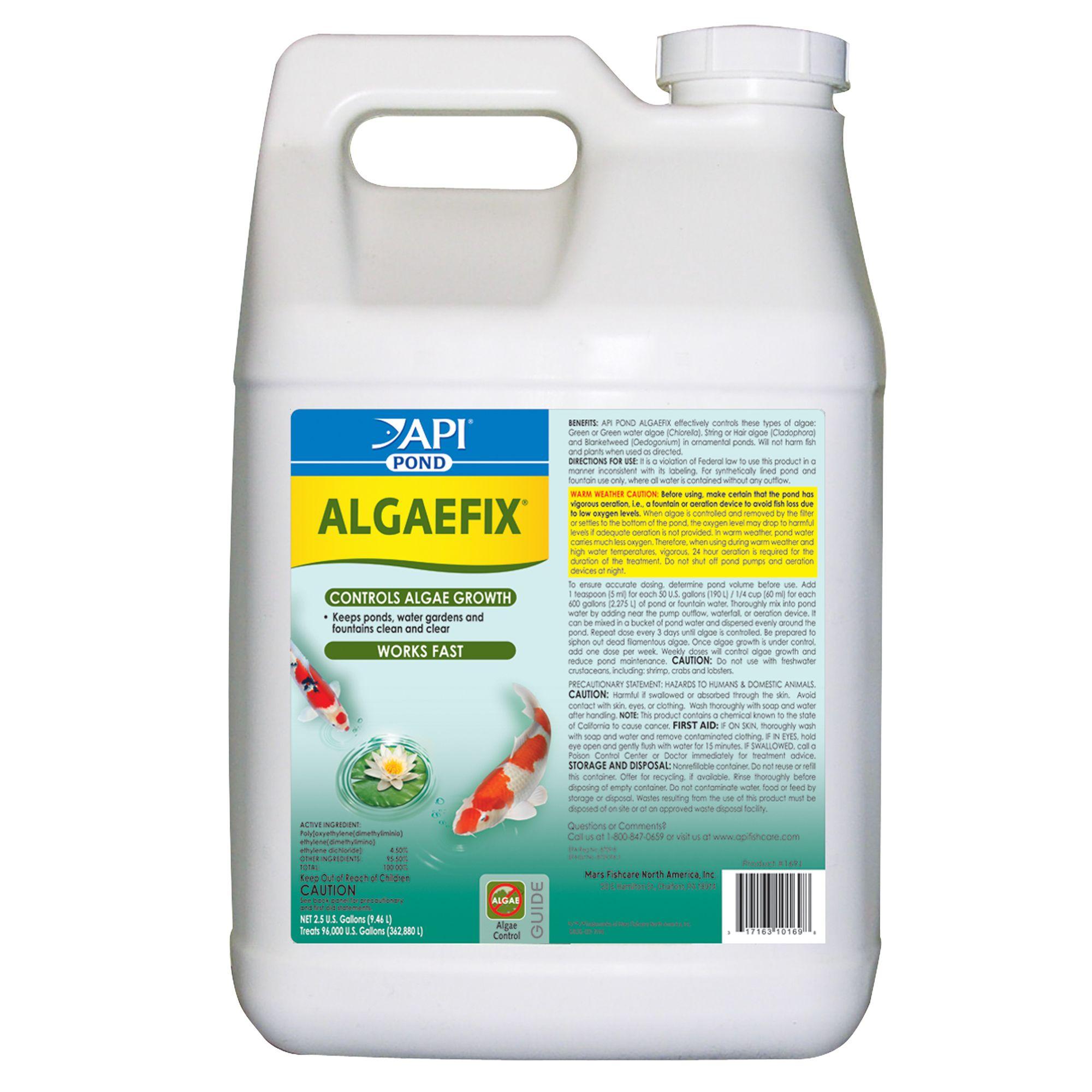 Api Pond Algefix Size 2.5 Gal