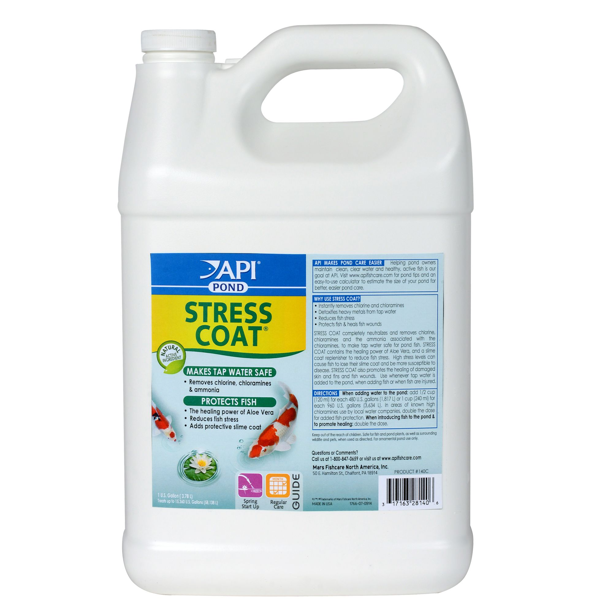 Api Pond Stress Coat size: 1 Gal
