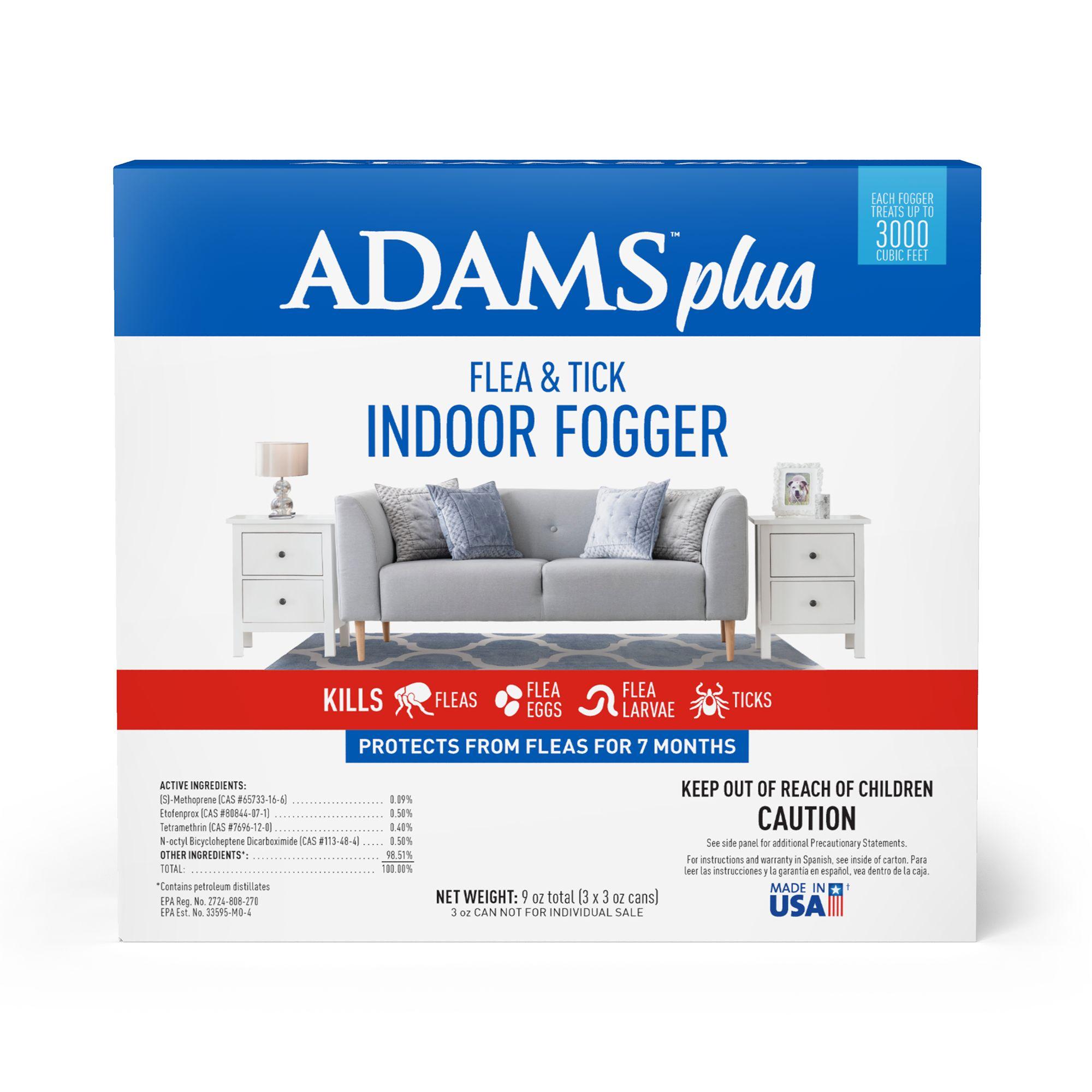 Adams Plus Flea And Tick Indoor Fogger