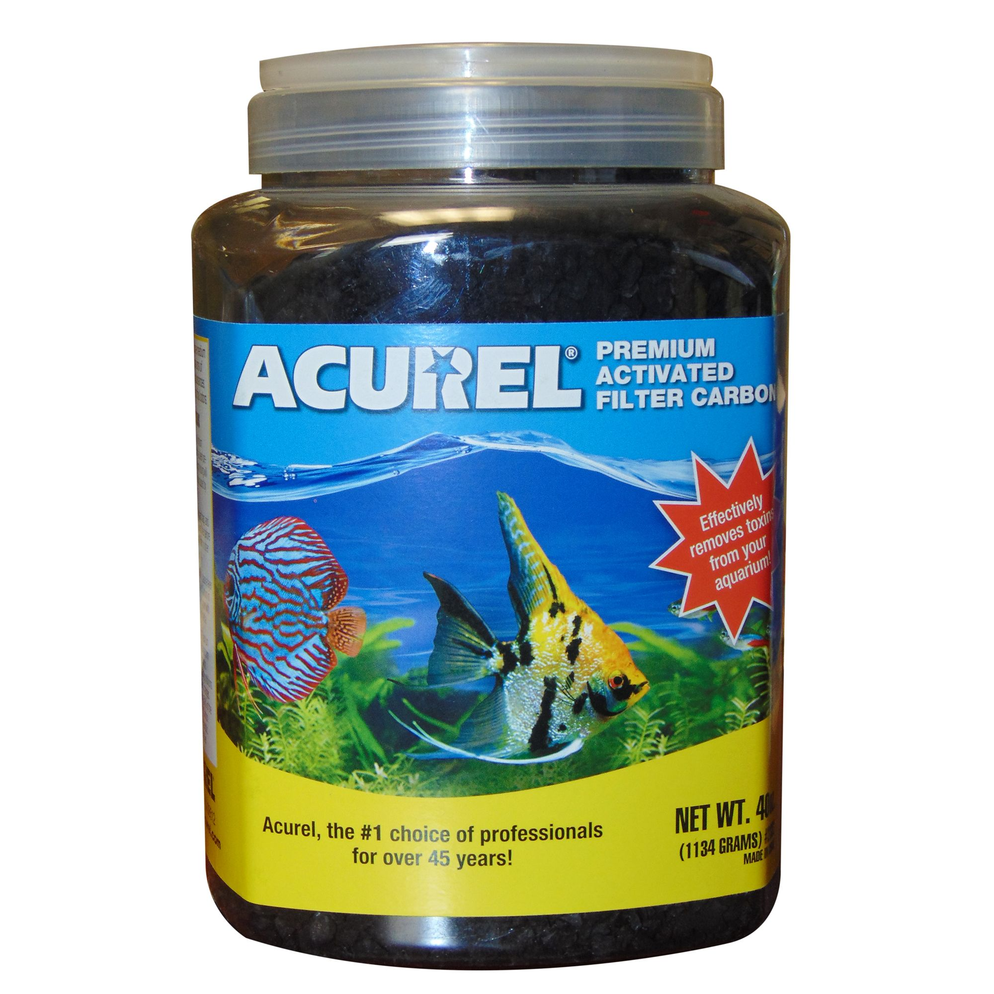 Acurel Filter Carbon Size 40 Fl Oz