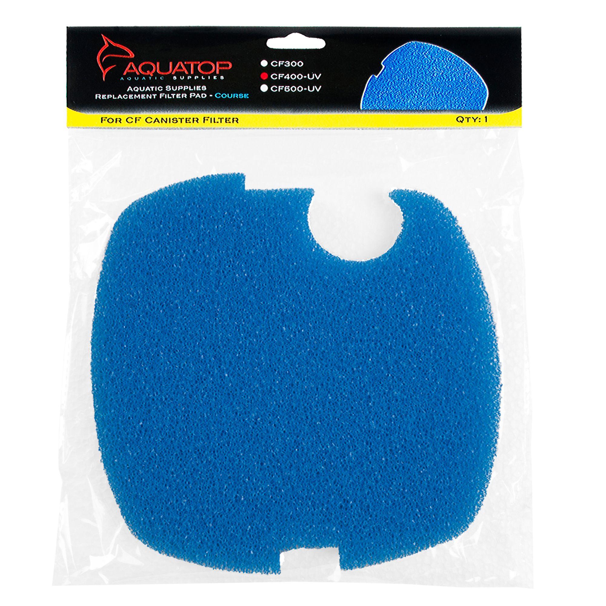 Aquatop Replacement Coarse Filter Sponge Cf400 Uv Size 1 Count