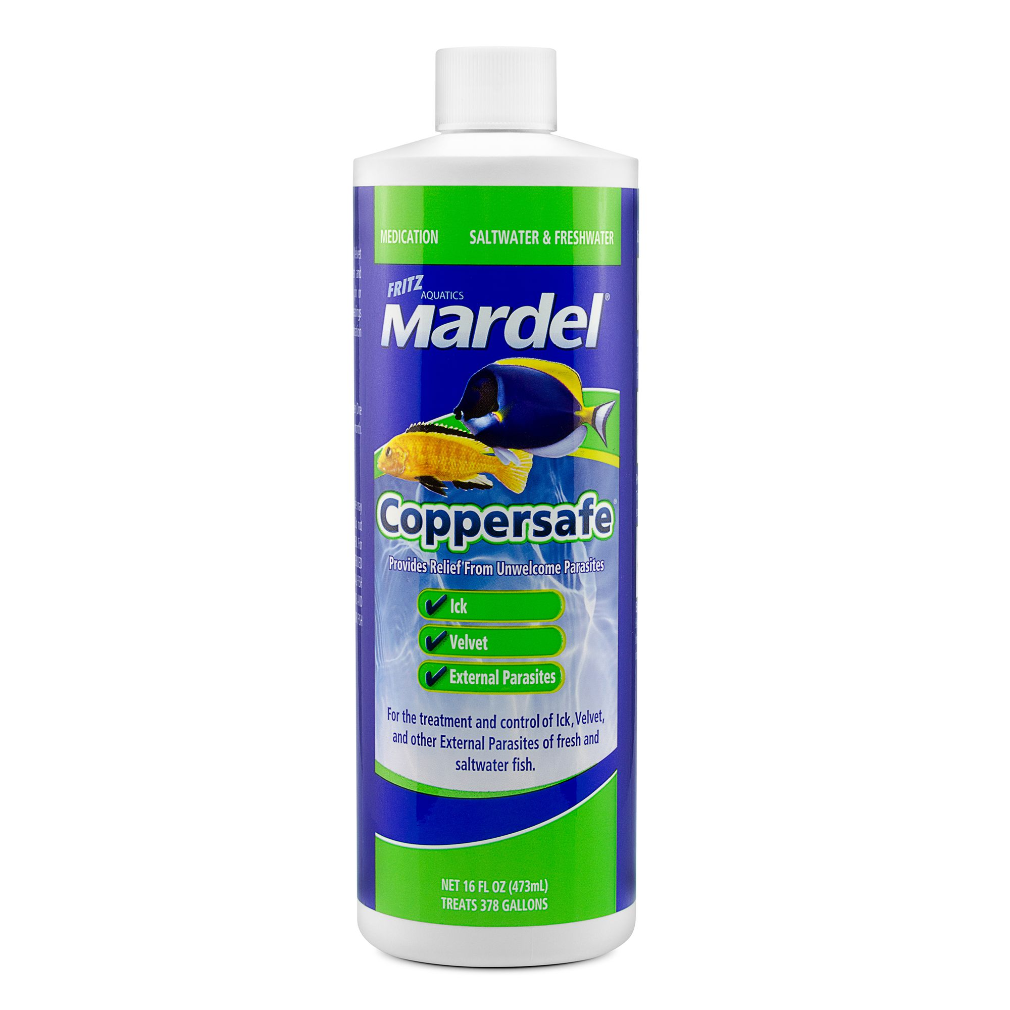 Mardel Coppersafe Disease Treatment Size 16 Fl Oz