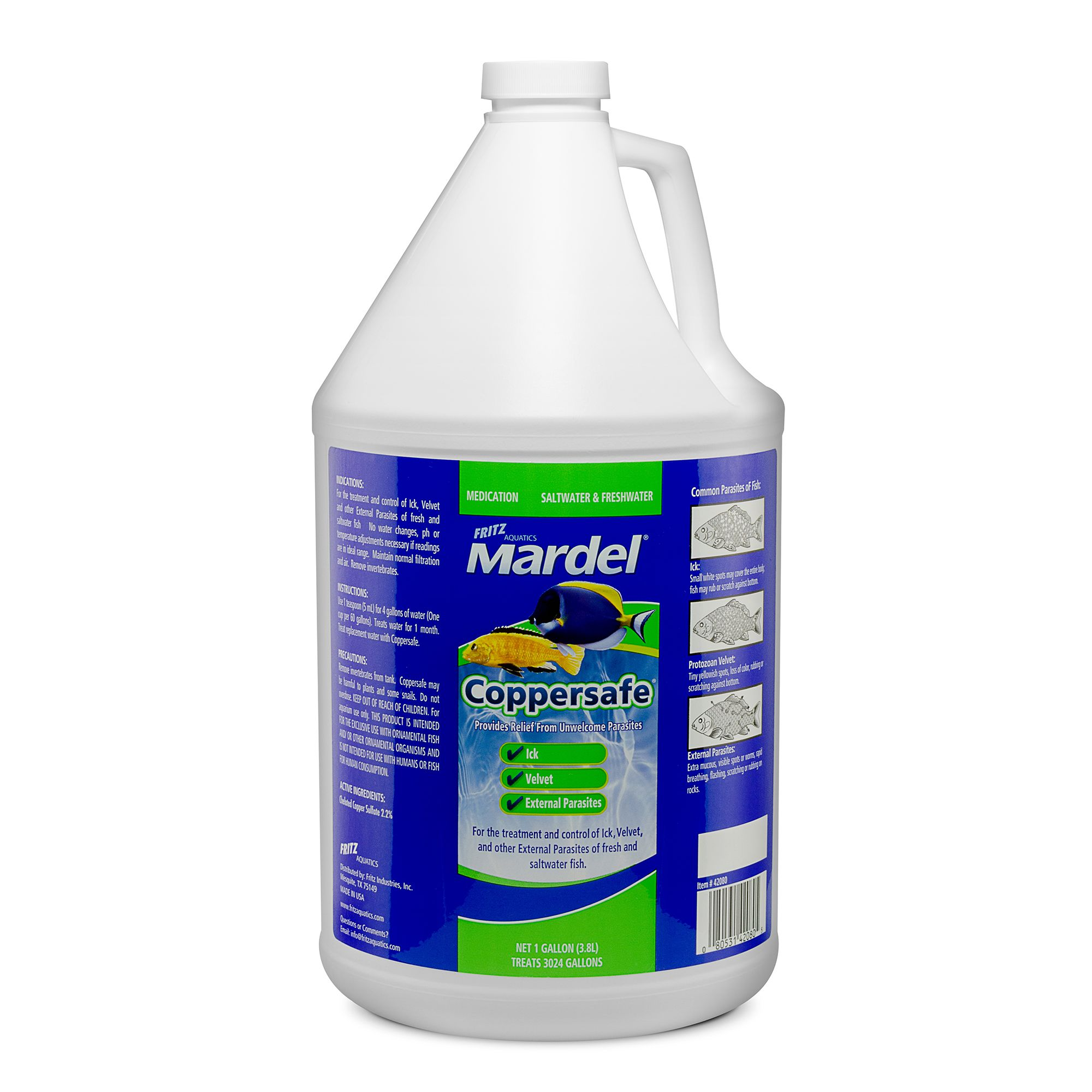 Mardel Coppersafe Disease Treatment Size 1 Gal