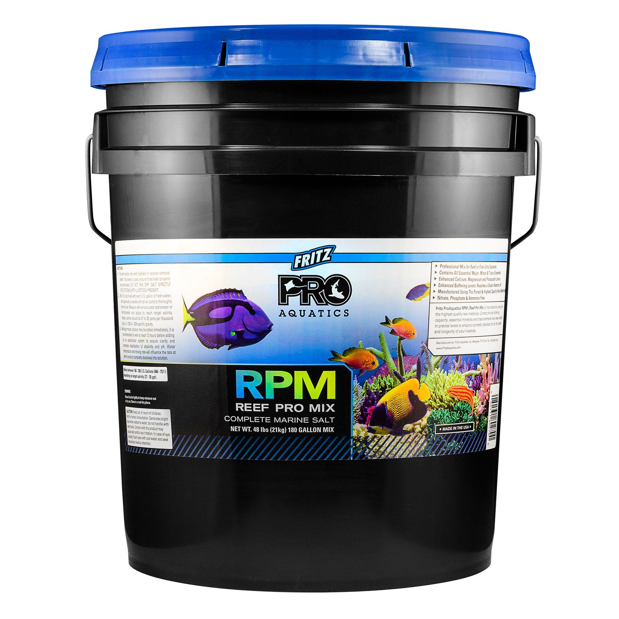 Fritz Proaquatics Reef Pro Mix Marine Salt Size 48 Lb