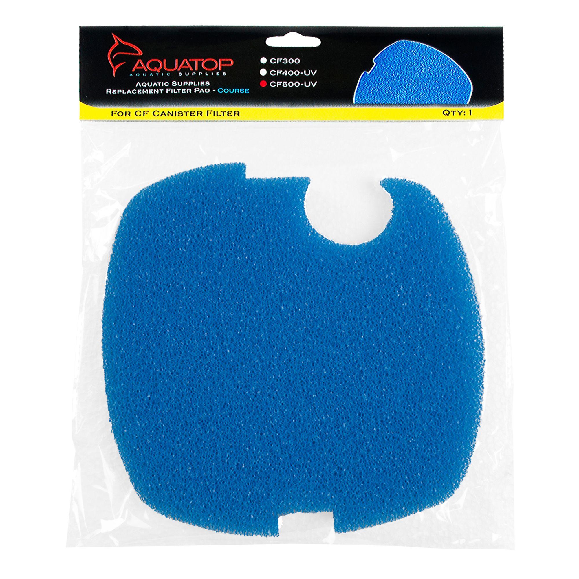 Aquatop Blue Filter Sponge Cf500uv Size 1 Count