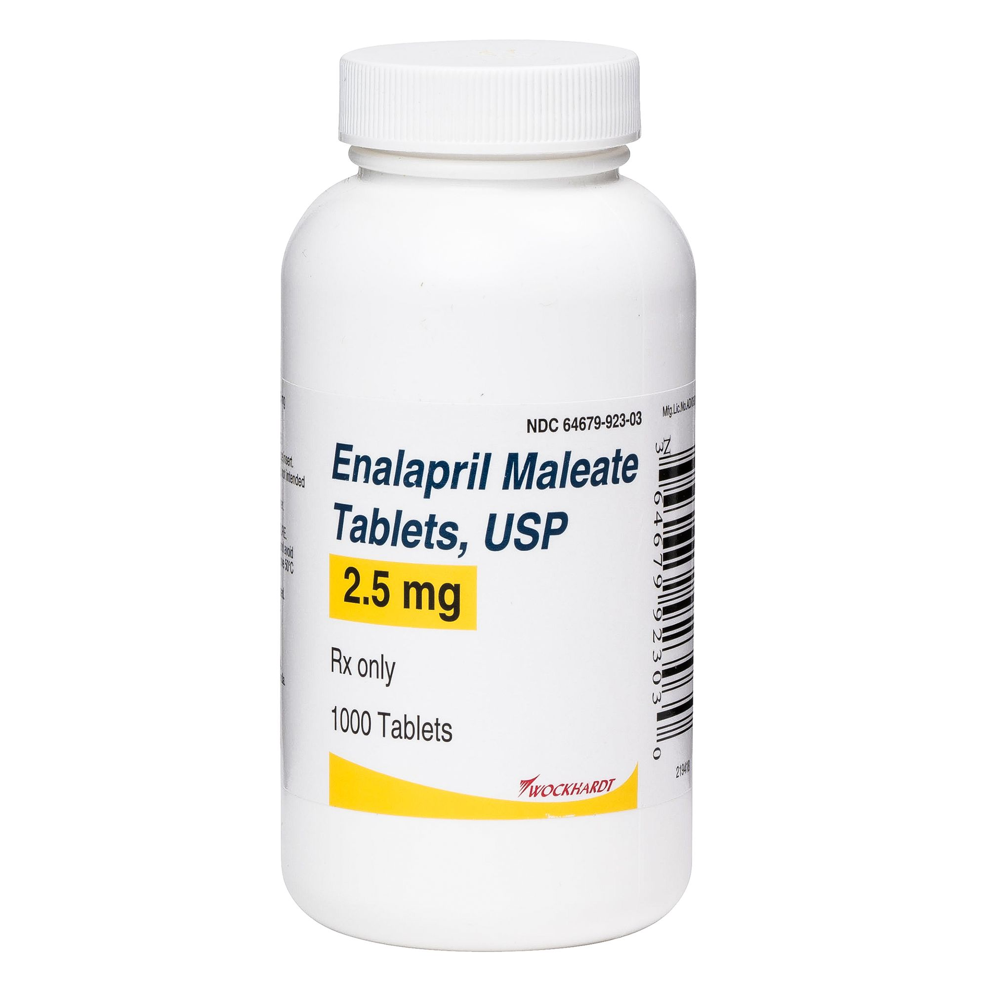 Enalapril Tablet (Generic to Enacard) size: 2.5 mg 5274409