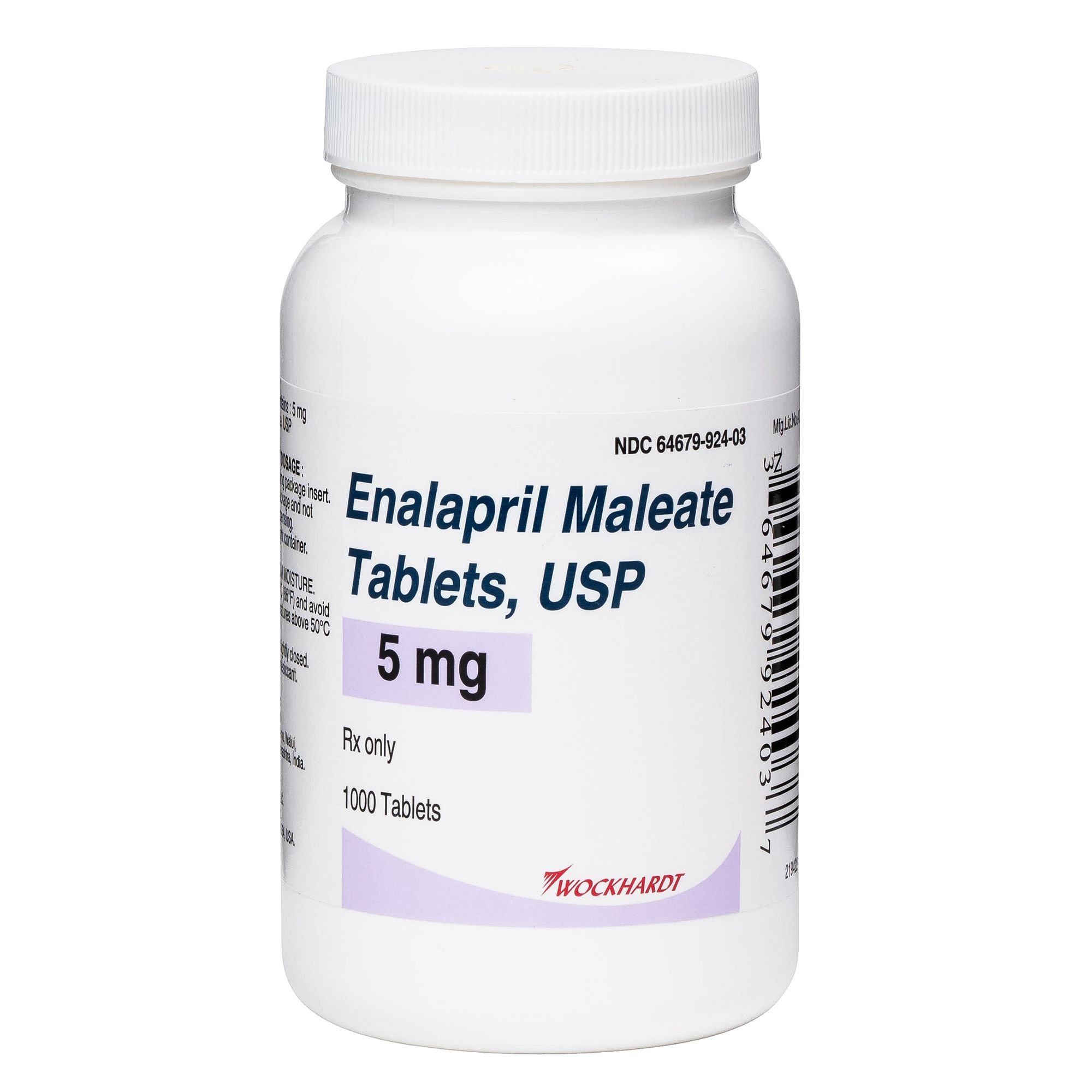 Enalapril Tablet (Generic to Enacard) size: 5 mg 5274411